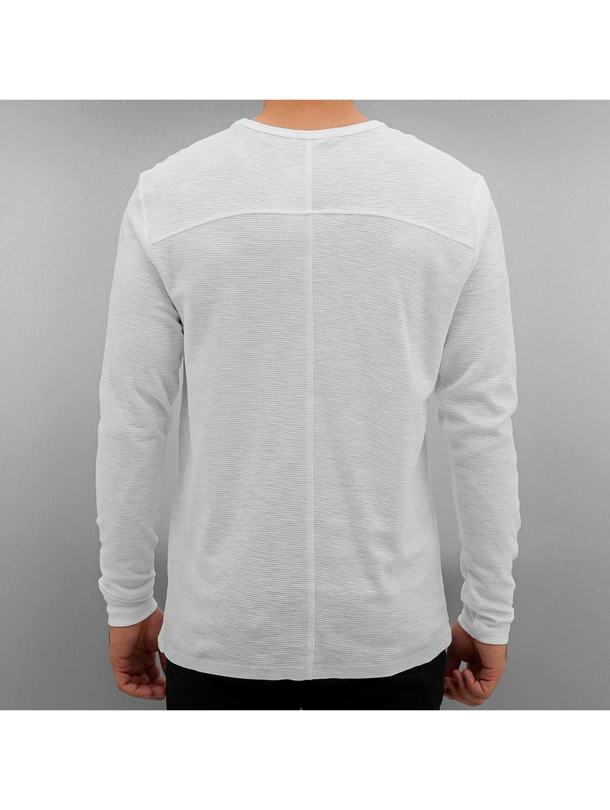 Jack & Jones T-Shirt manches longues jcoBarnie blanc