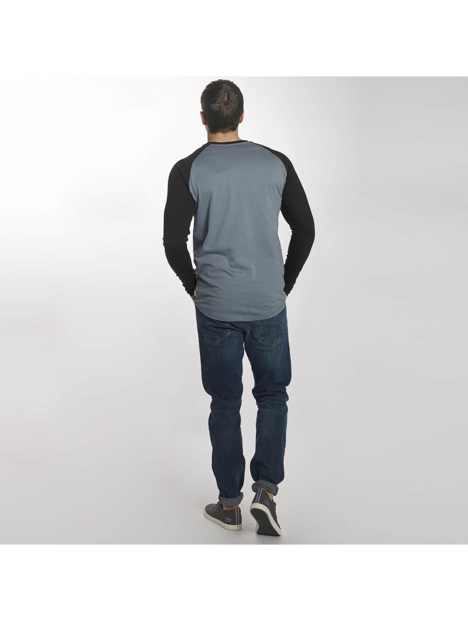Jack & Jones T-Shirt manches longues jcoBuddy bleu