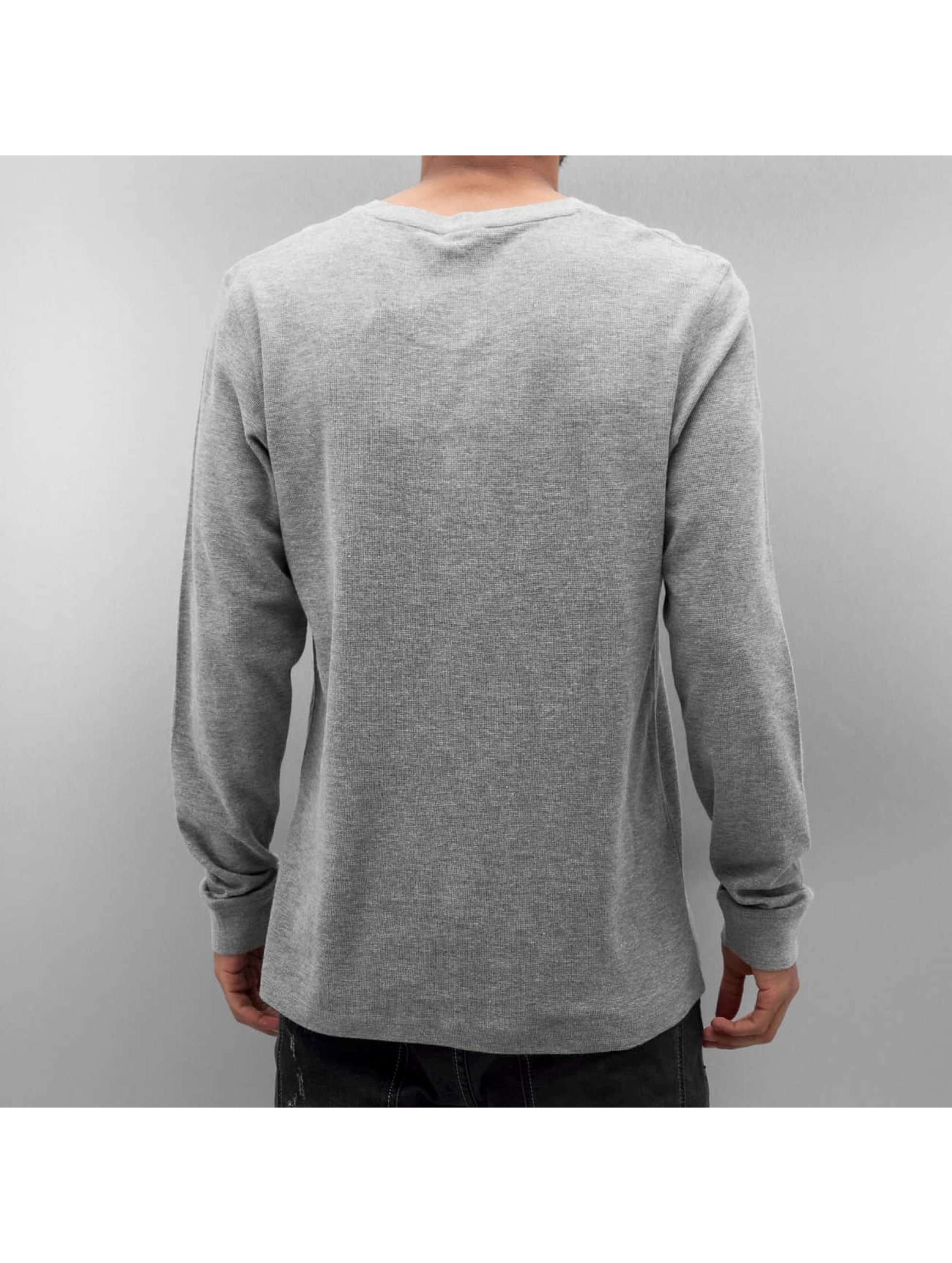 Jack & Jones T-Shirt manches longues jjorGeorge gris
