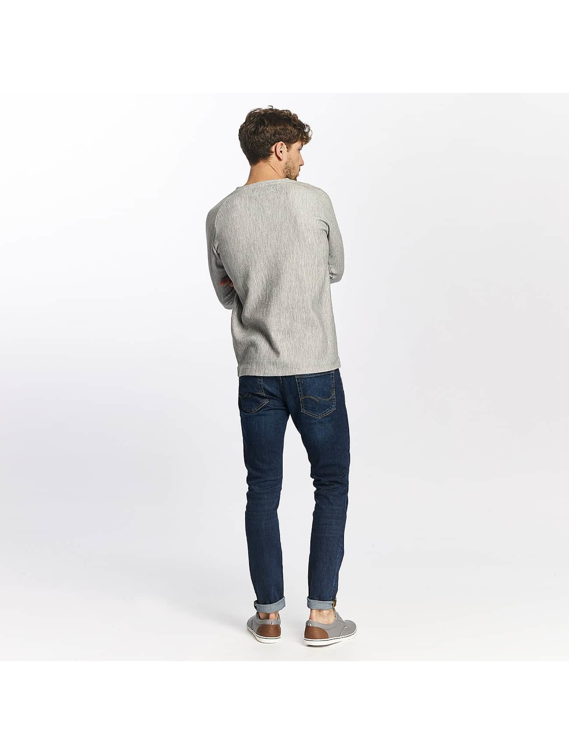 Jack & Jones T-Shirt manches longues jprCashed gris