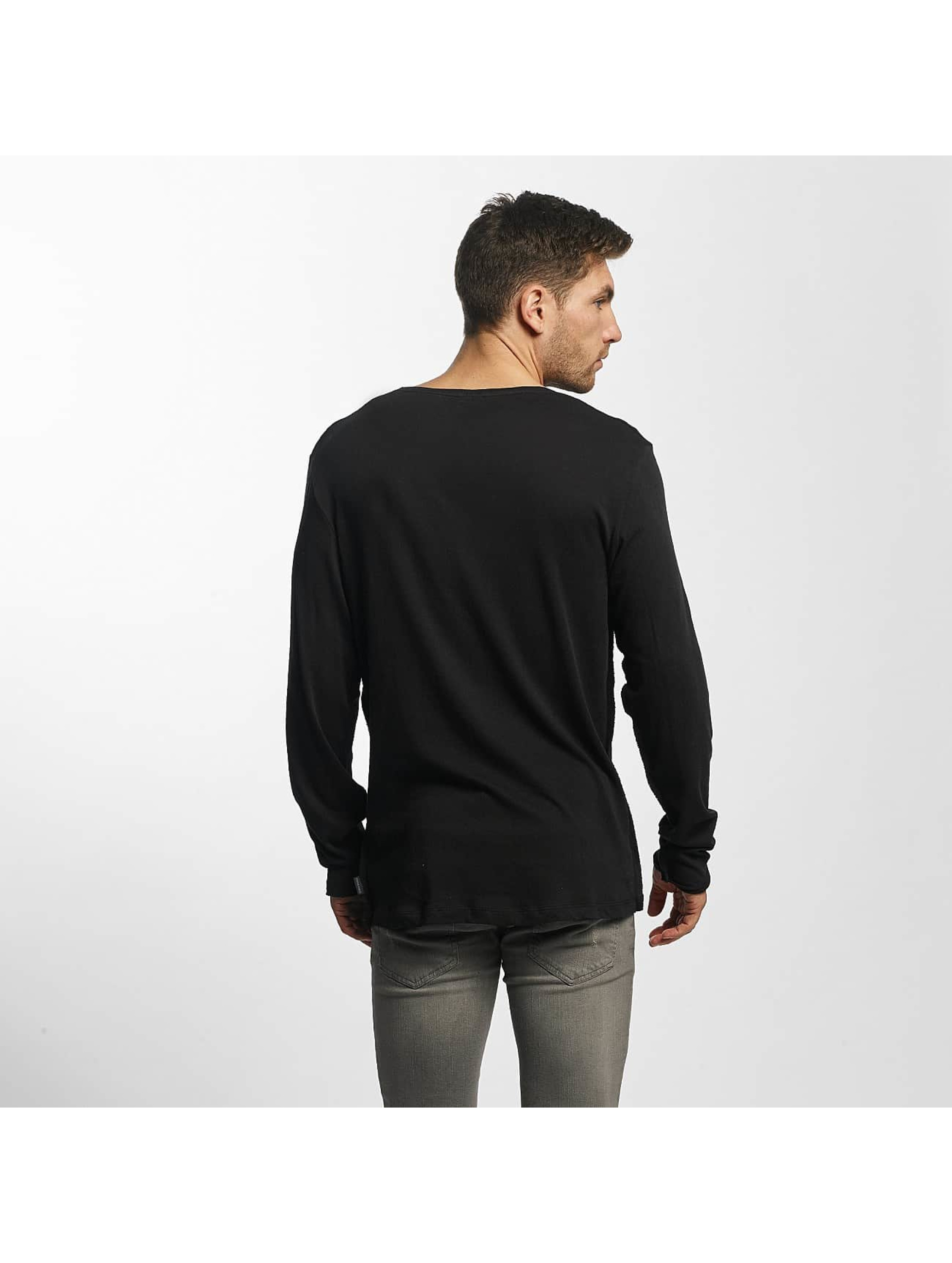 Jack & Jones T-Shirt manches longues JORLoose gris