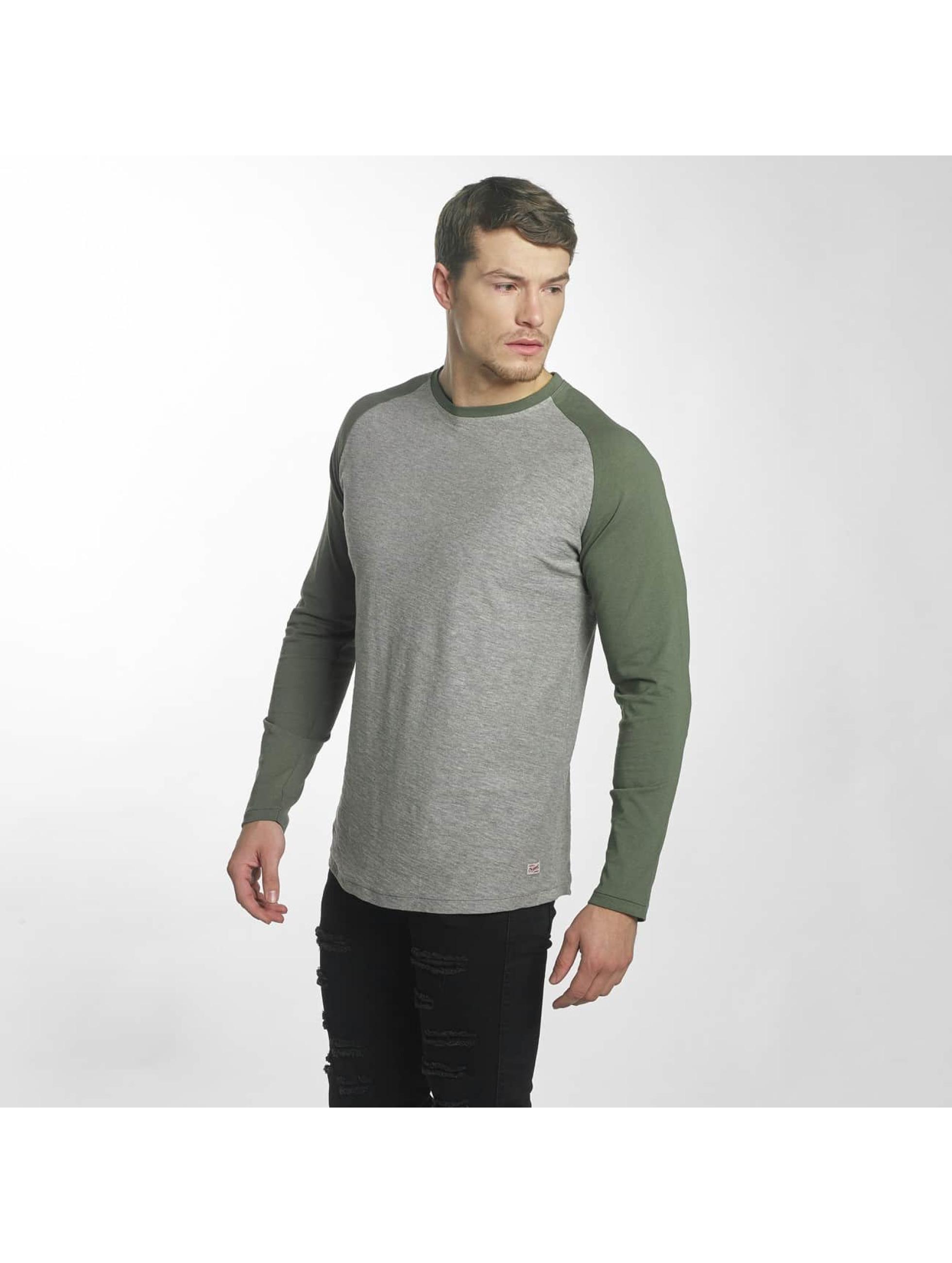 Jack & Jones T-Shirt manches longues jorNew gris