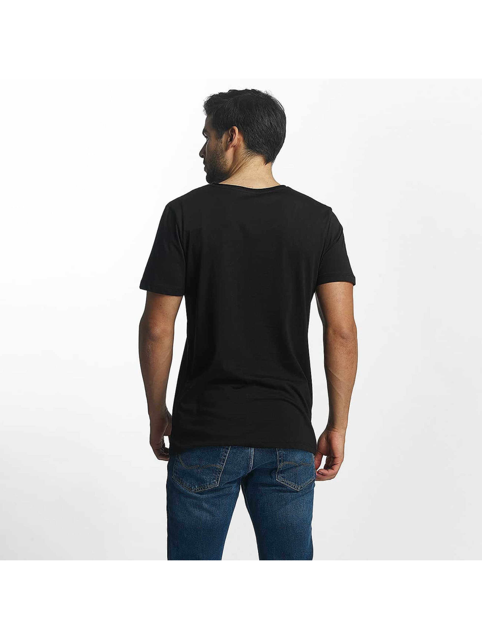 Jack & Jones T-Shirt Split noir
