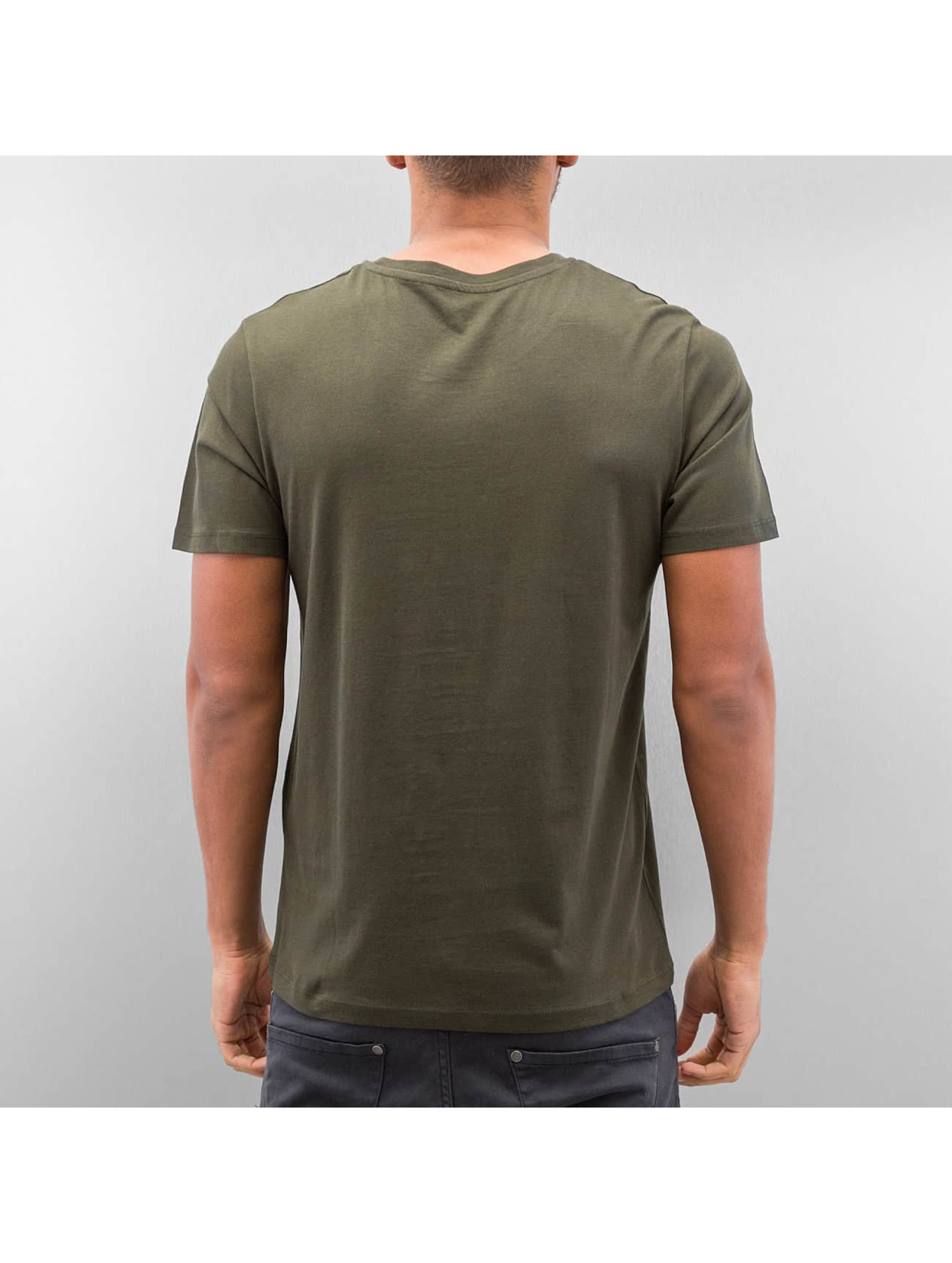 Jack & Jones T-Shirt jjcoSystem olive