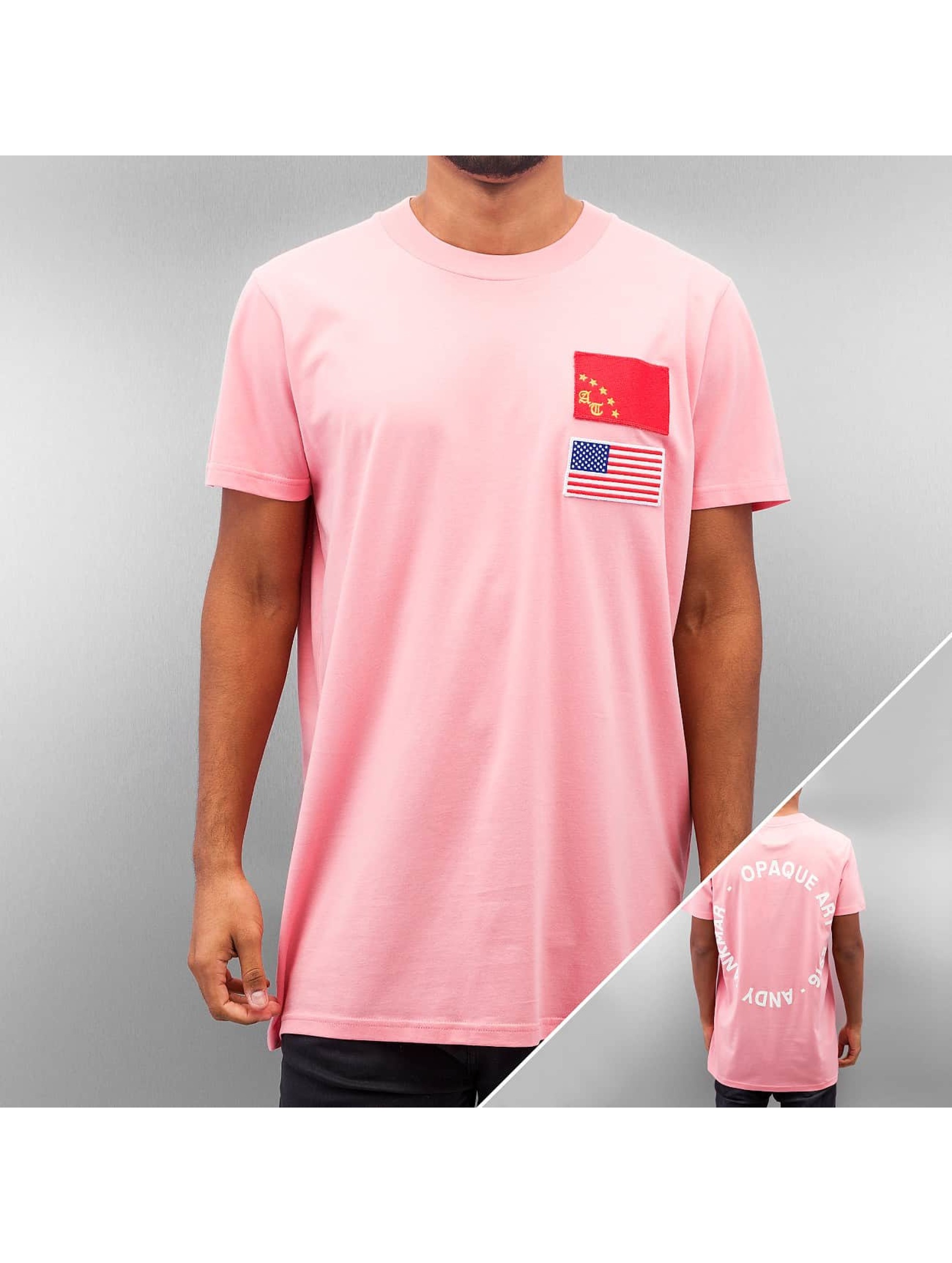Jack & Jones Oberteil / T-Shirt jcoTankmar Badge in rosa