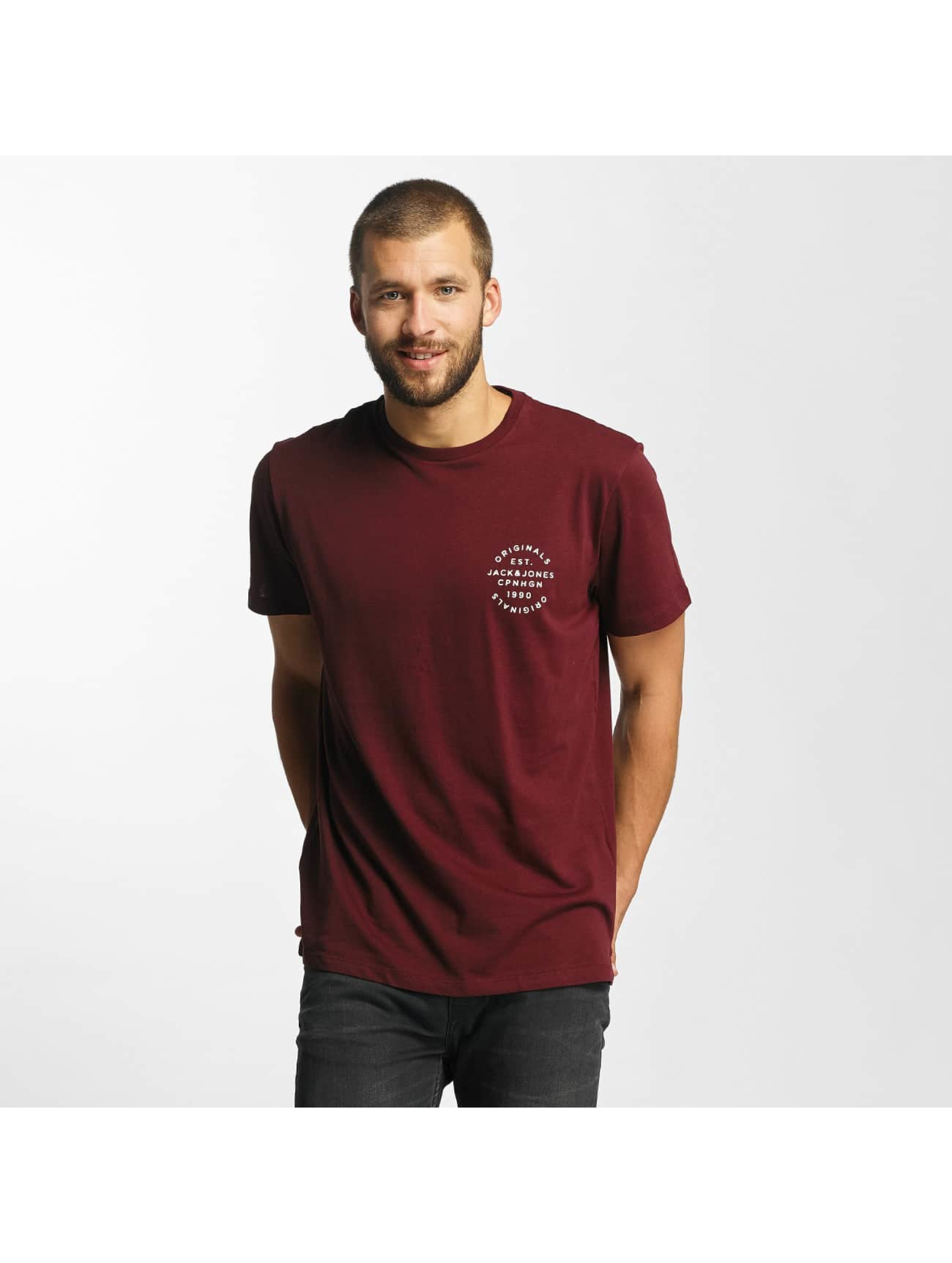 Jack & Jones T-Shirt jorOrganic in rot