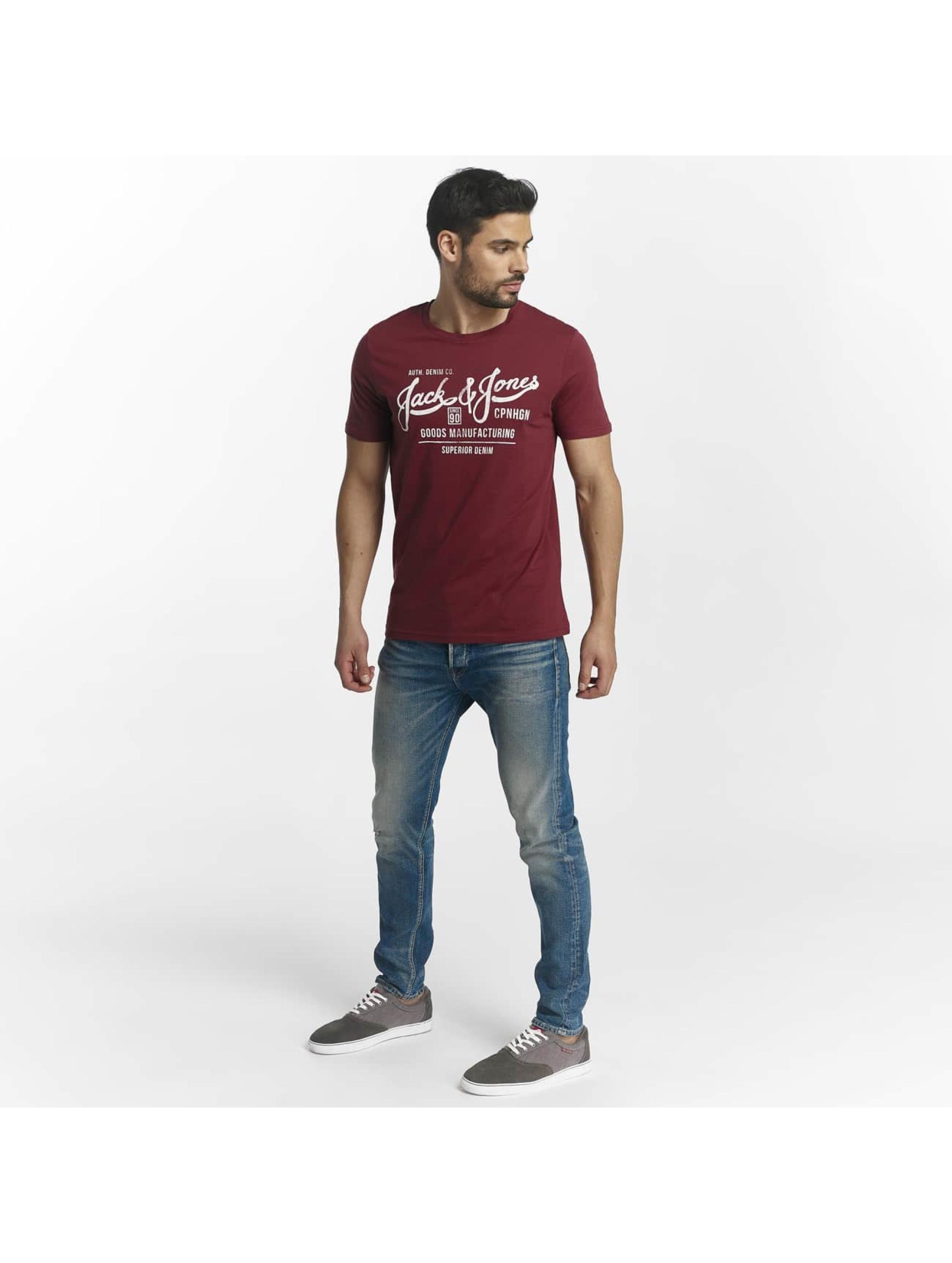 Jack & Jones T-Shirt jorSlack rouge