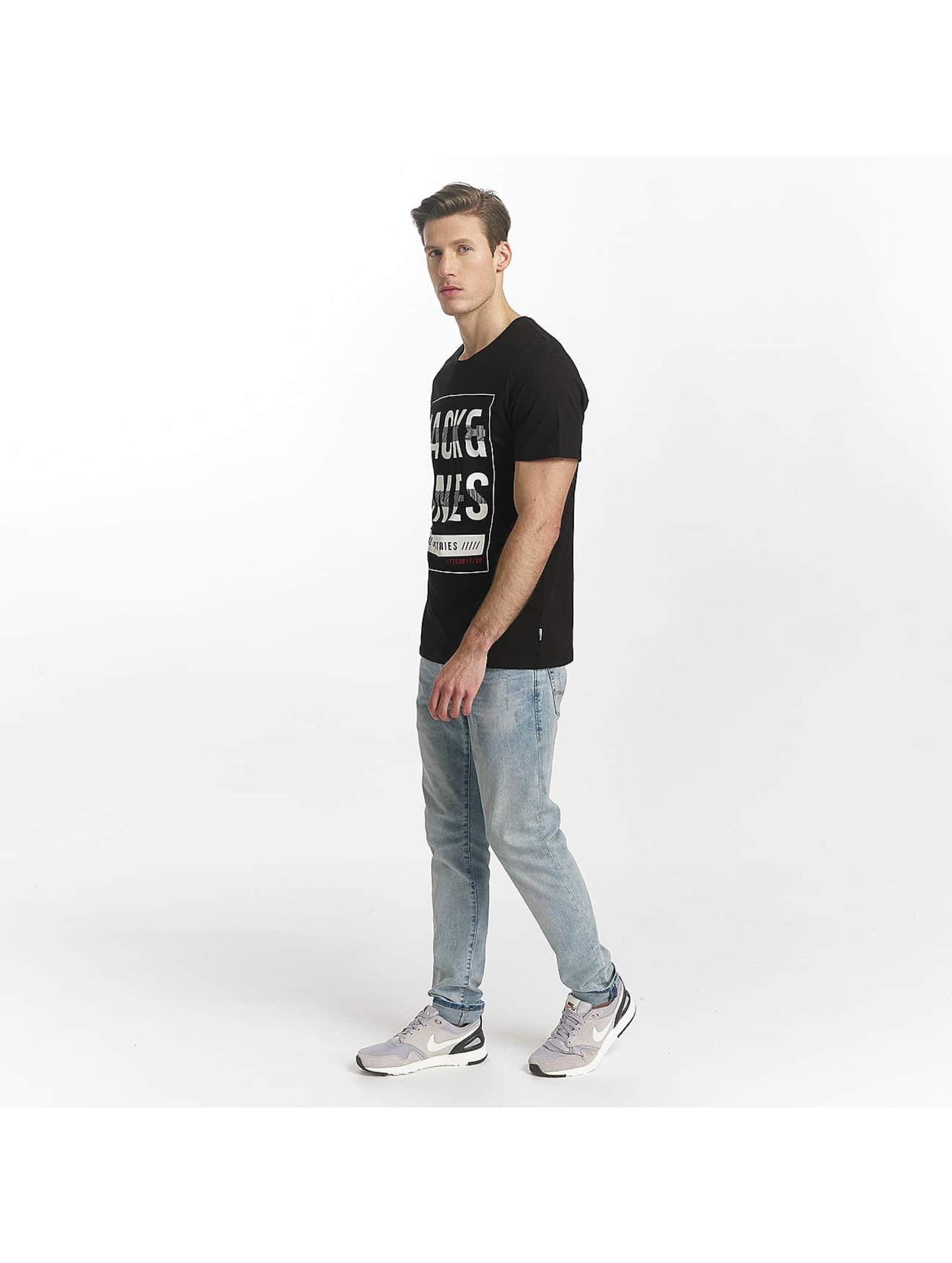 Jack & Jones T-Shirt jcoLine schwarz