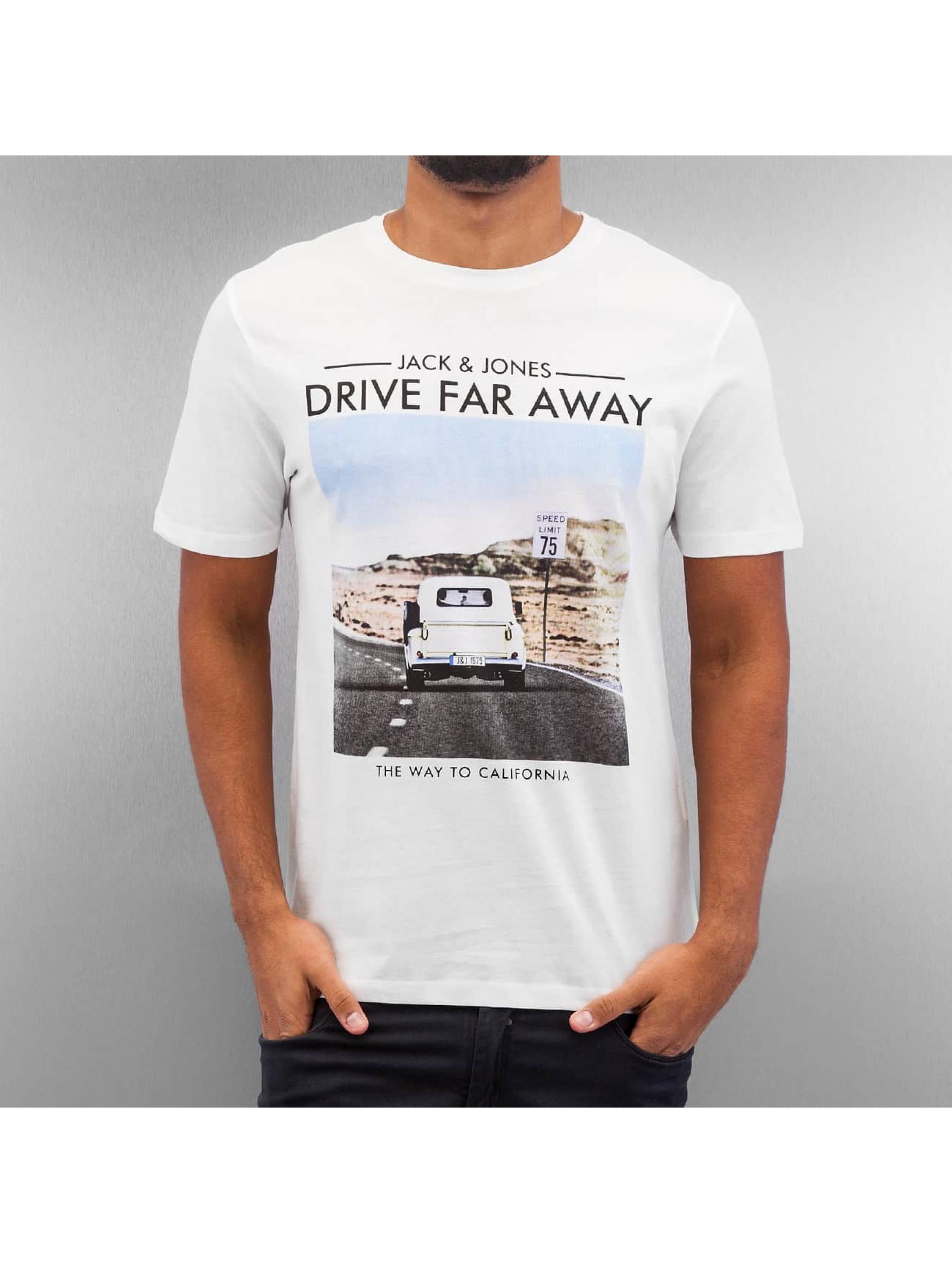 Jack & Jones T-Shirt jorRoad Trip weiß