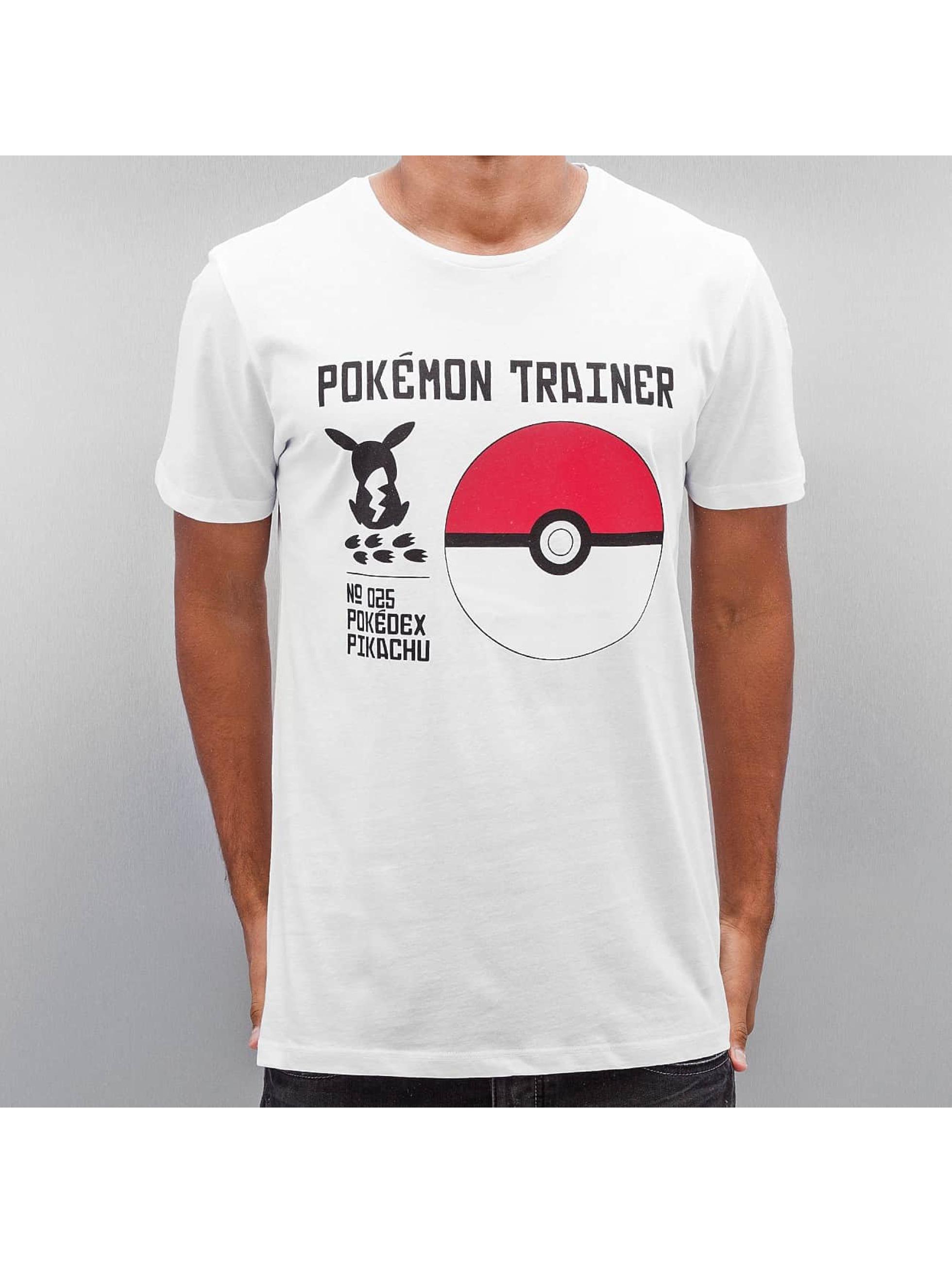 Jack & Jones T-Shirt jorPokemon weiß