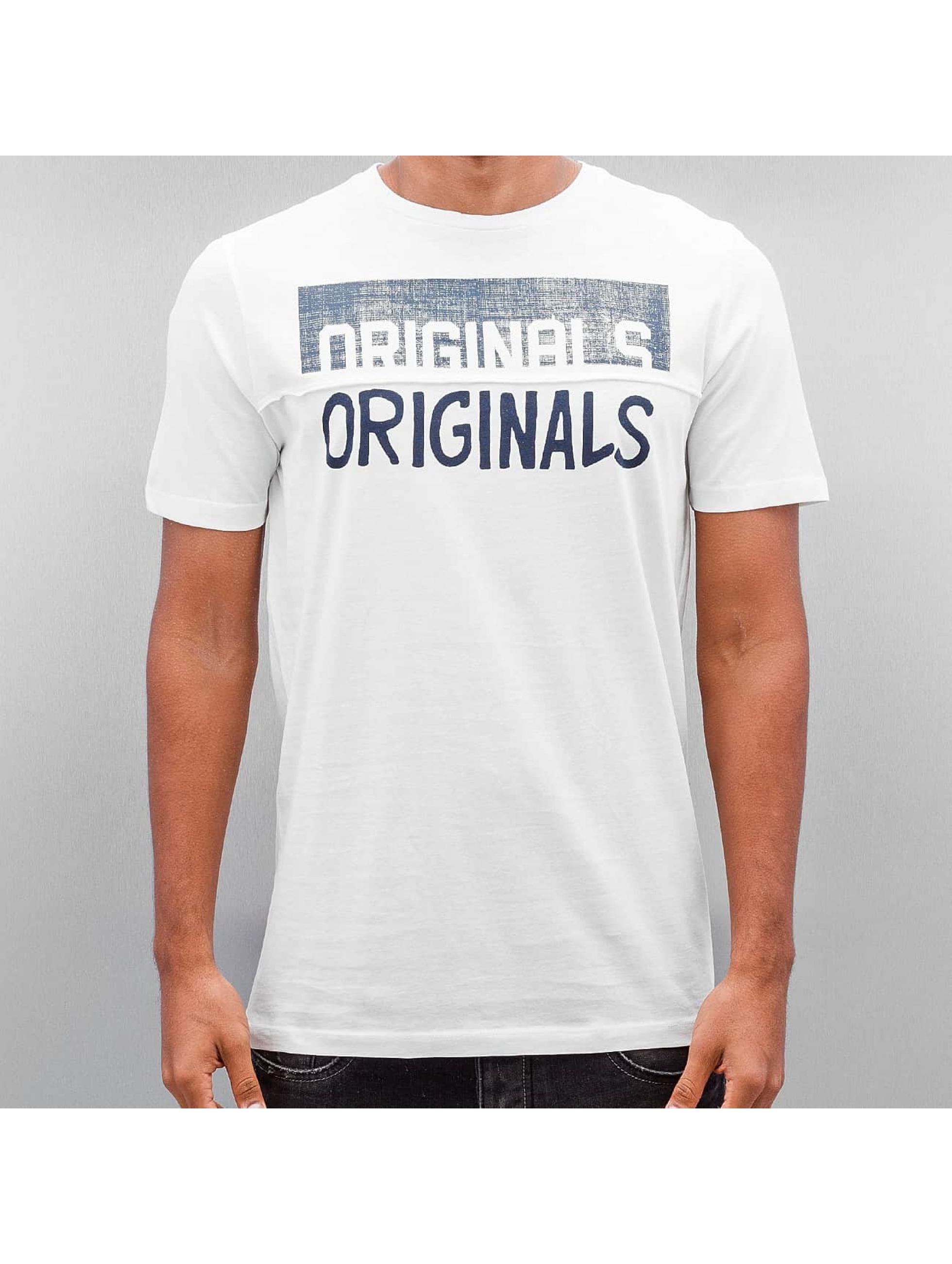 Jack & Jones T-Shirt Jorsedret white