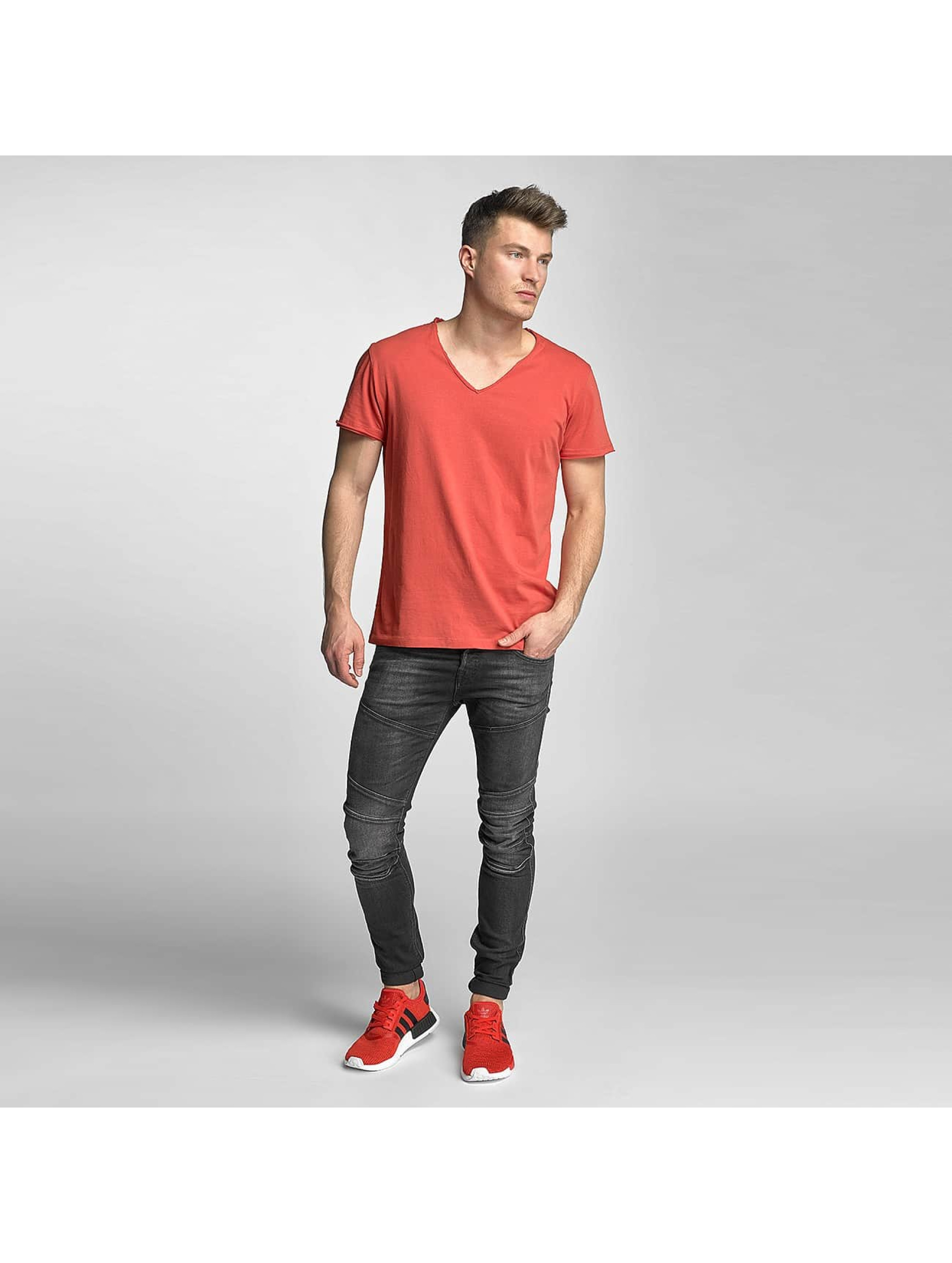 Jack & Jones T-shirts Wolf rød