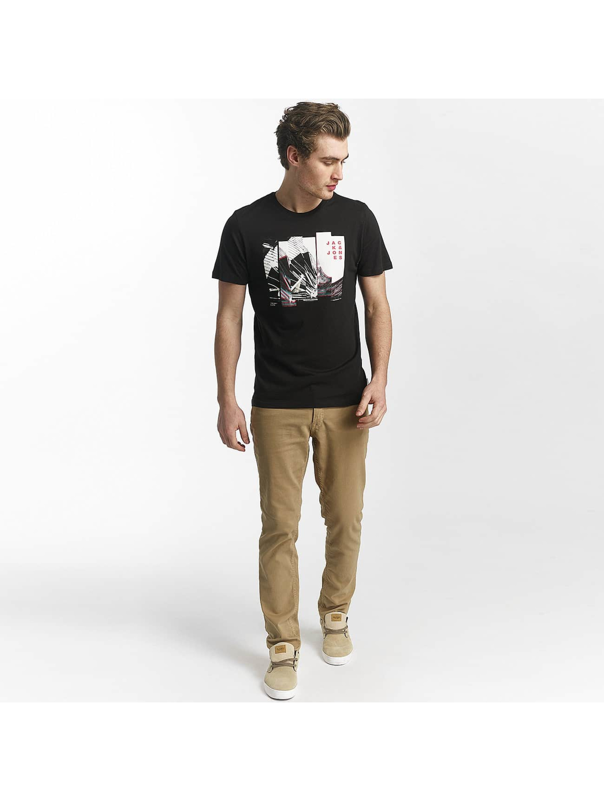 Jack & Jones T-Shirty jcoHunter czarny