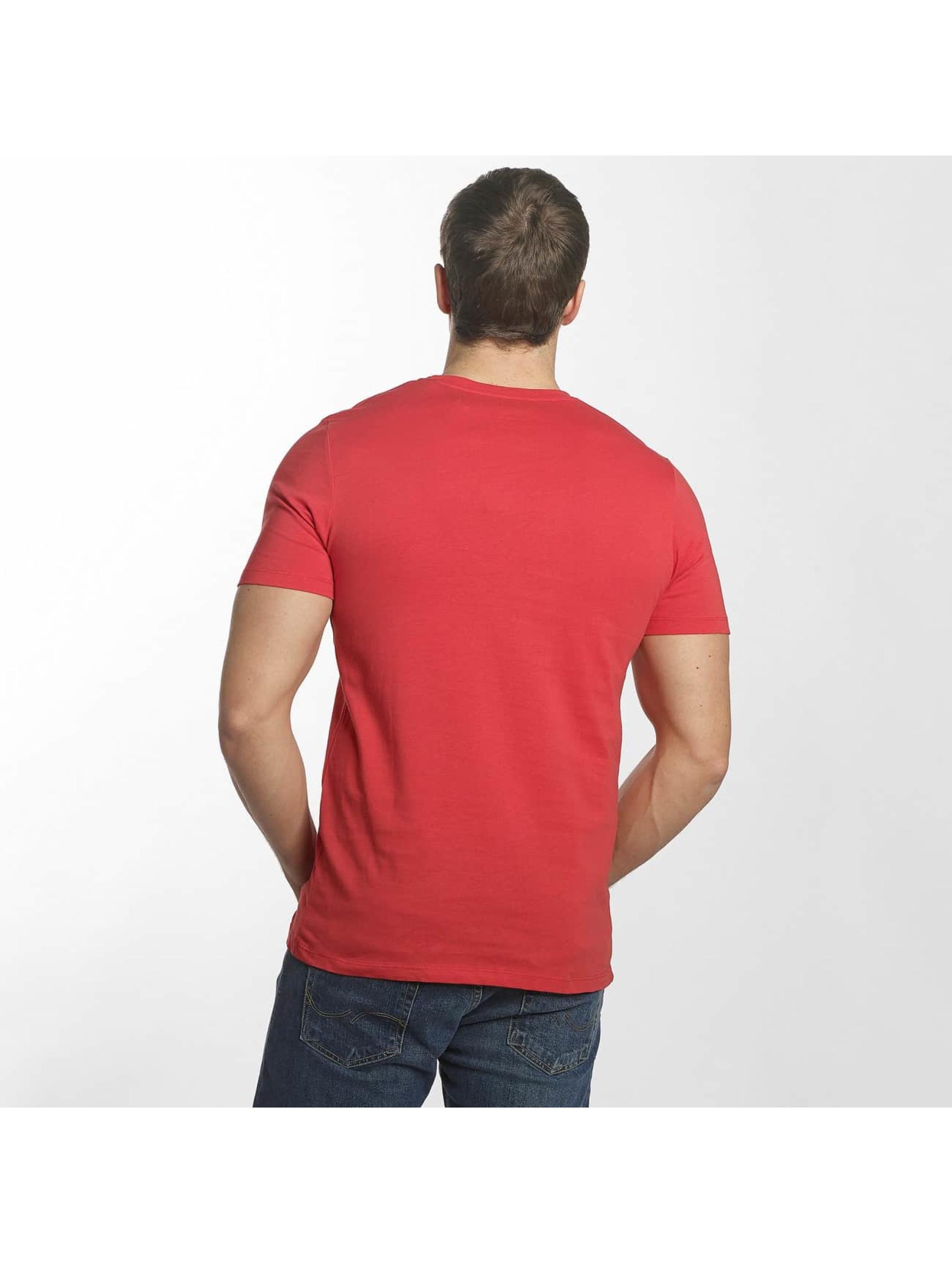 Jack & Jones T-Shirty jorMusai czerwony