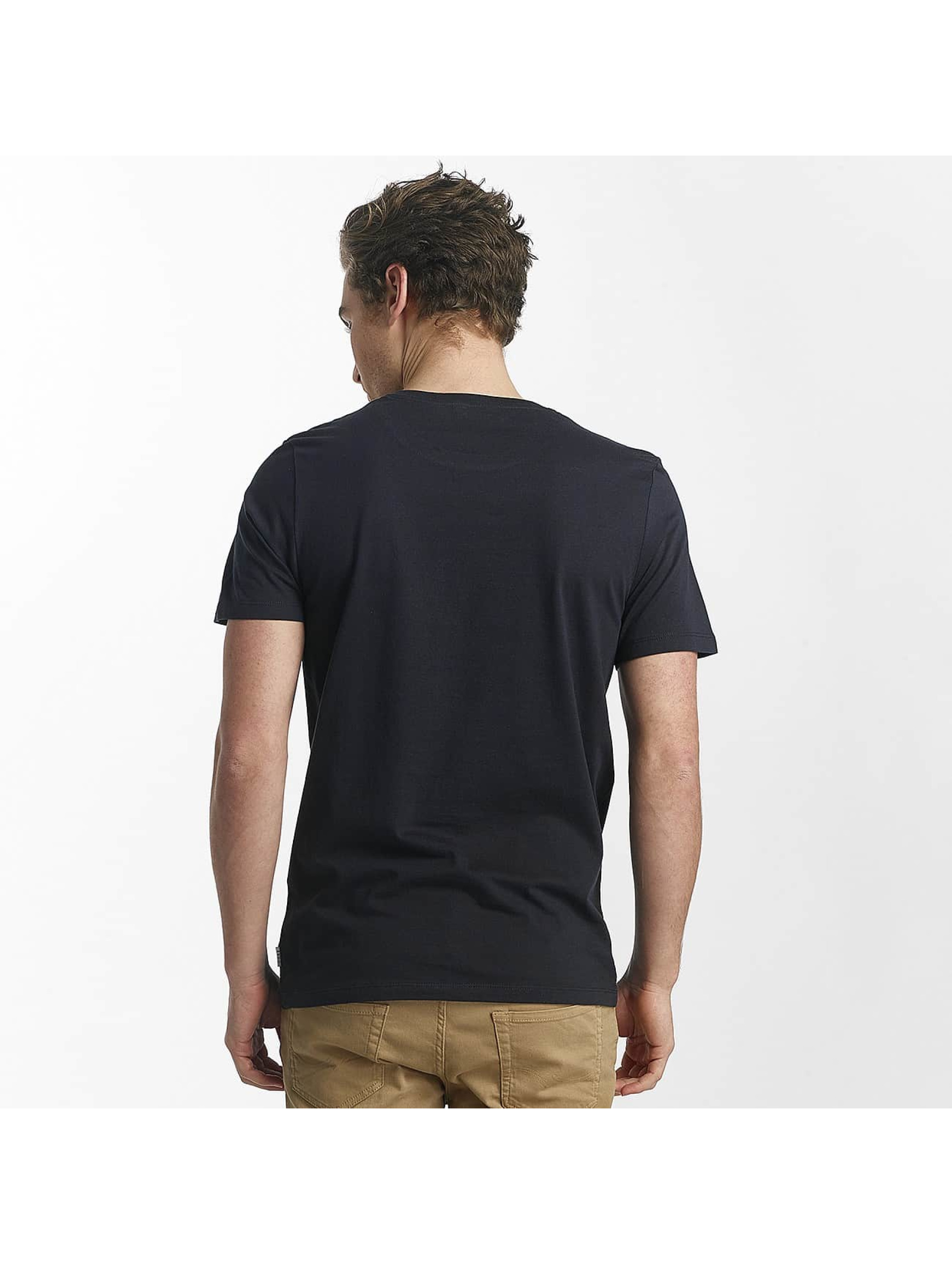 Jack & Jones T-Shirty jcoHunter niebieski