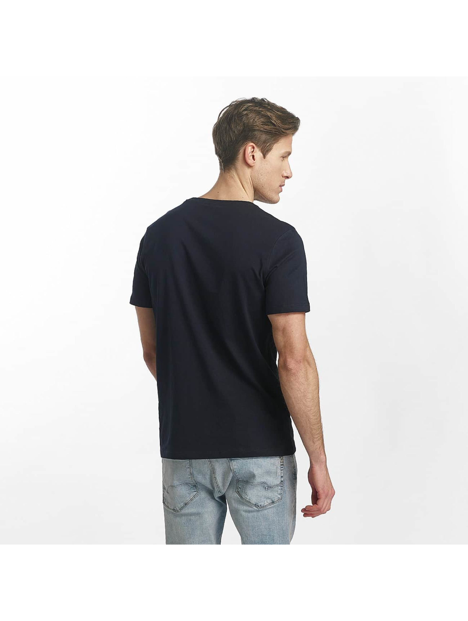 Jack & Jones T-Shirty jcoLine niebieski