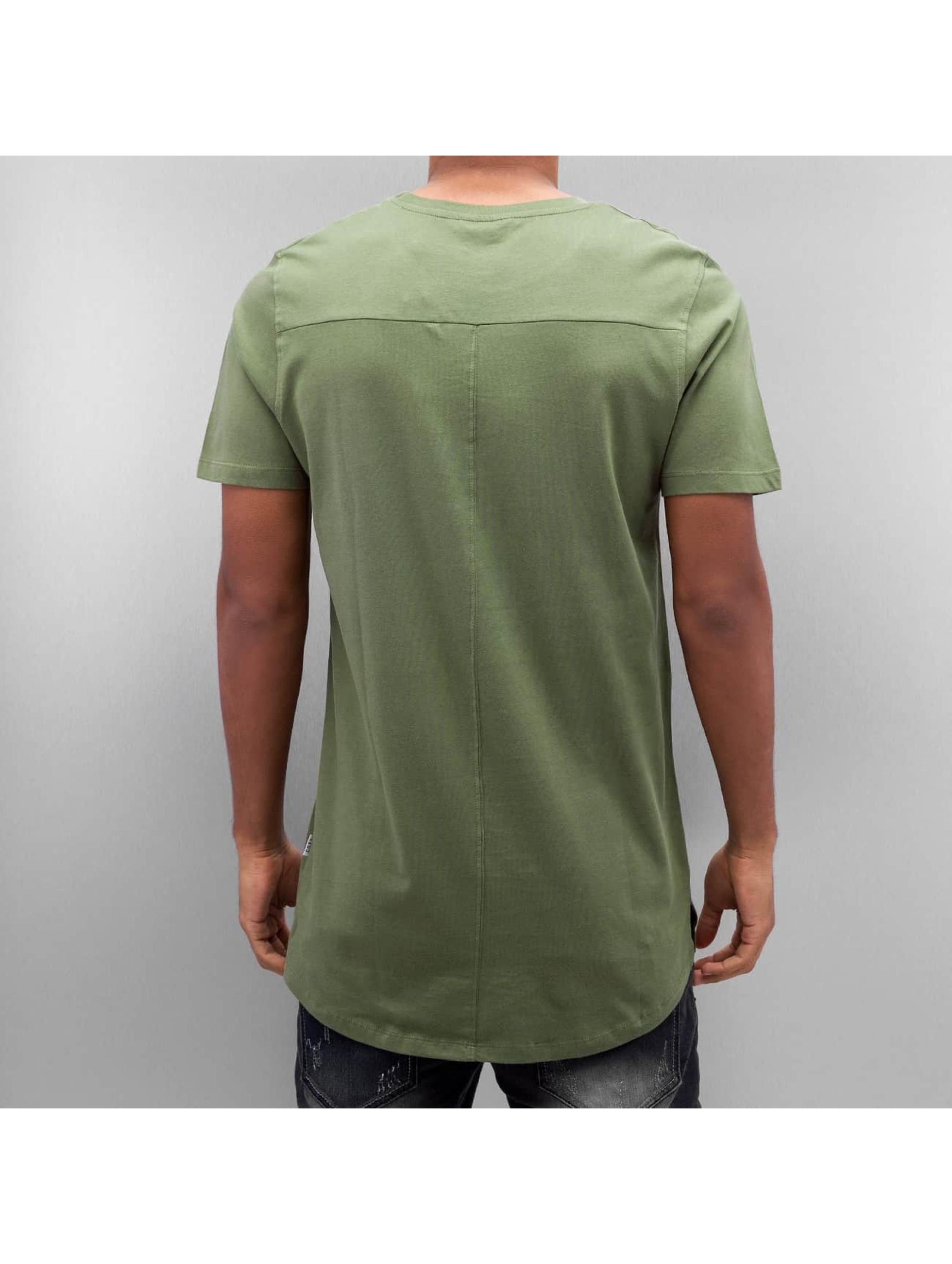Jack & Jones T-Shirty jcoAuthority oliwkowy