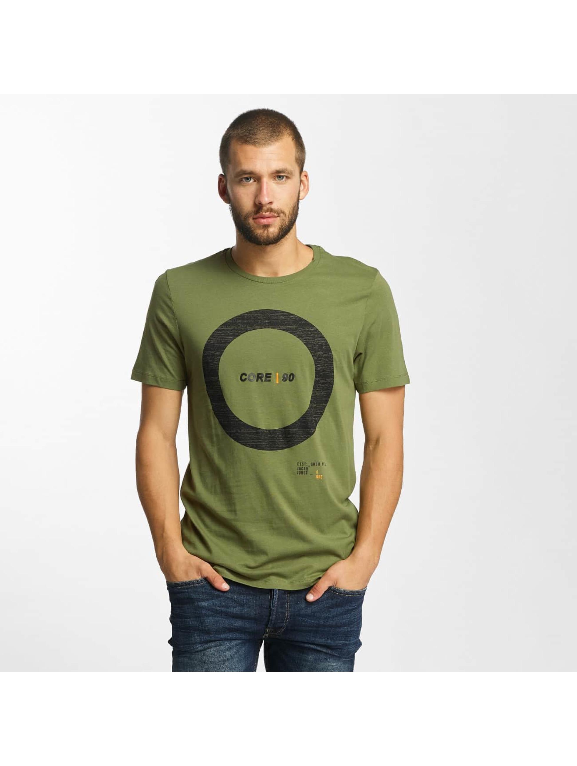 Jack & Jones T-Shirty jcoCharge oliwkowy