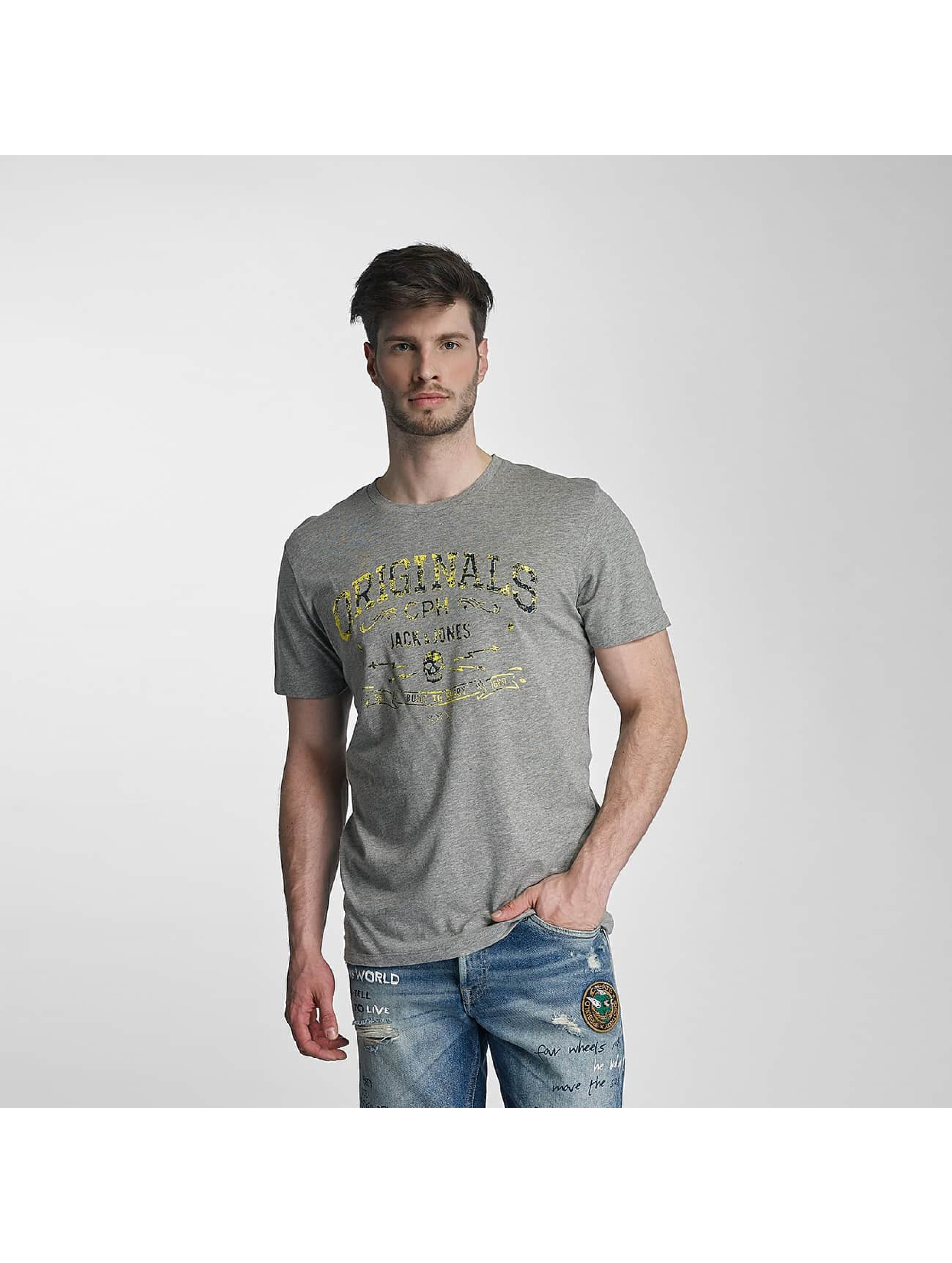 Jack & Jones T-Shirty jorTraffic szary