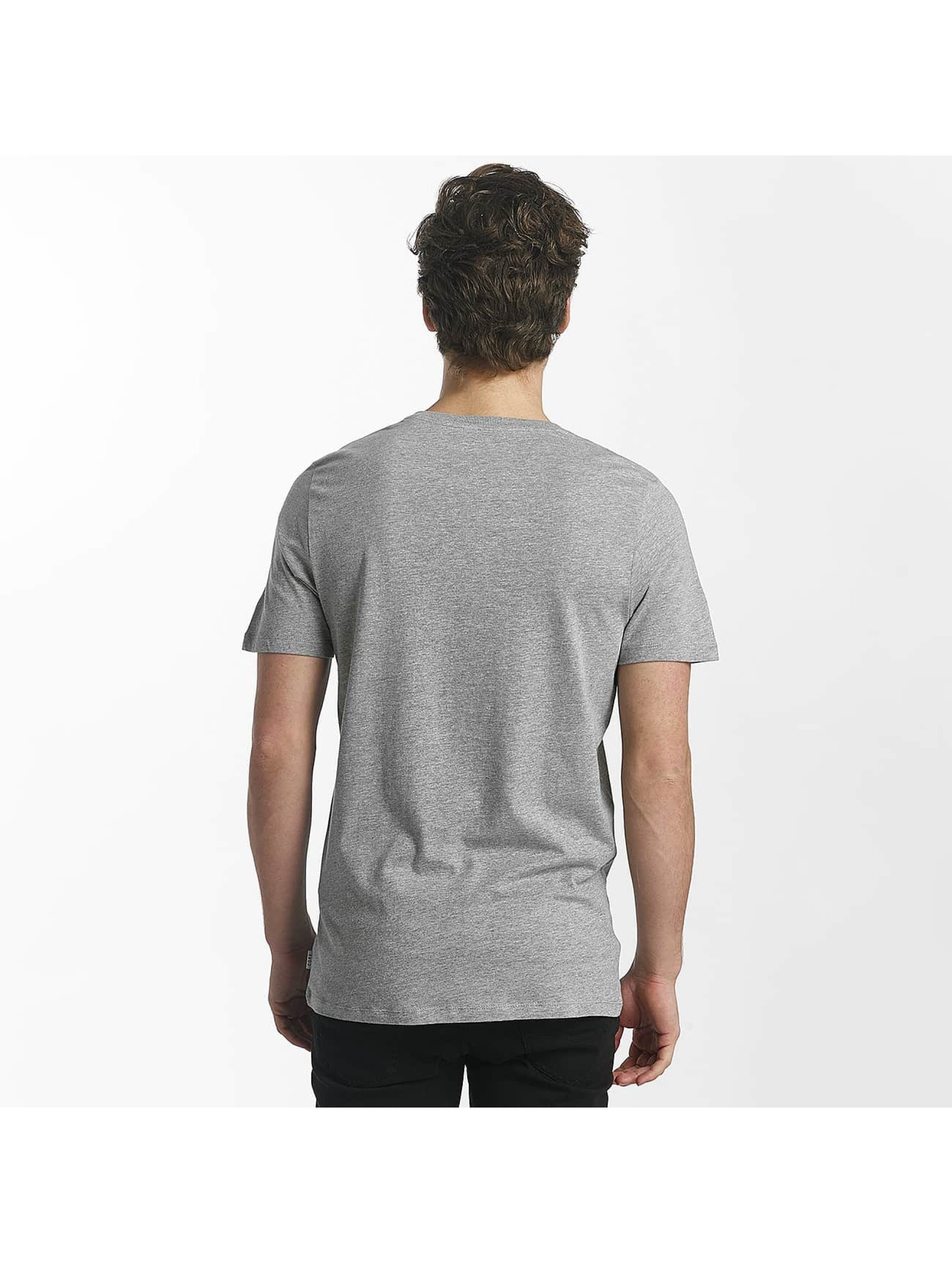 Jack & Jones T-Shirty jcoHunter szary