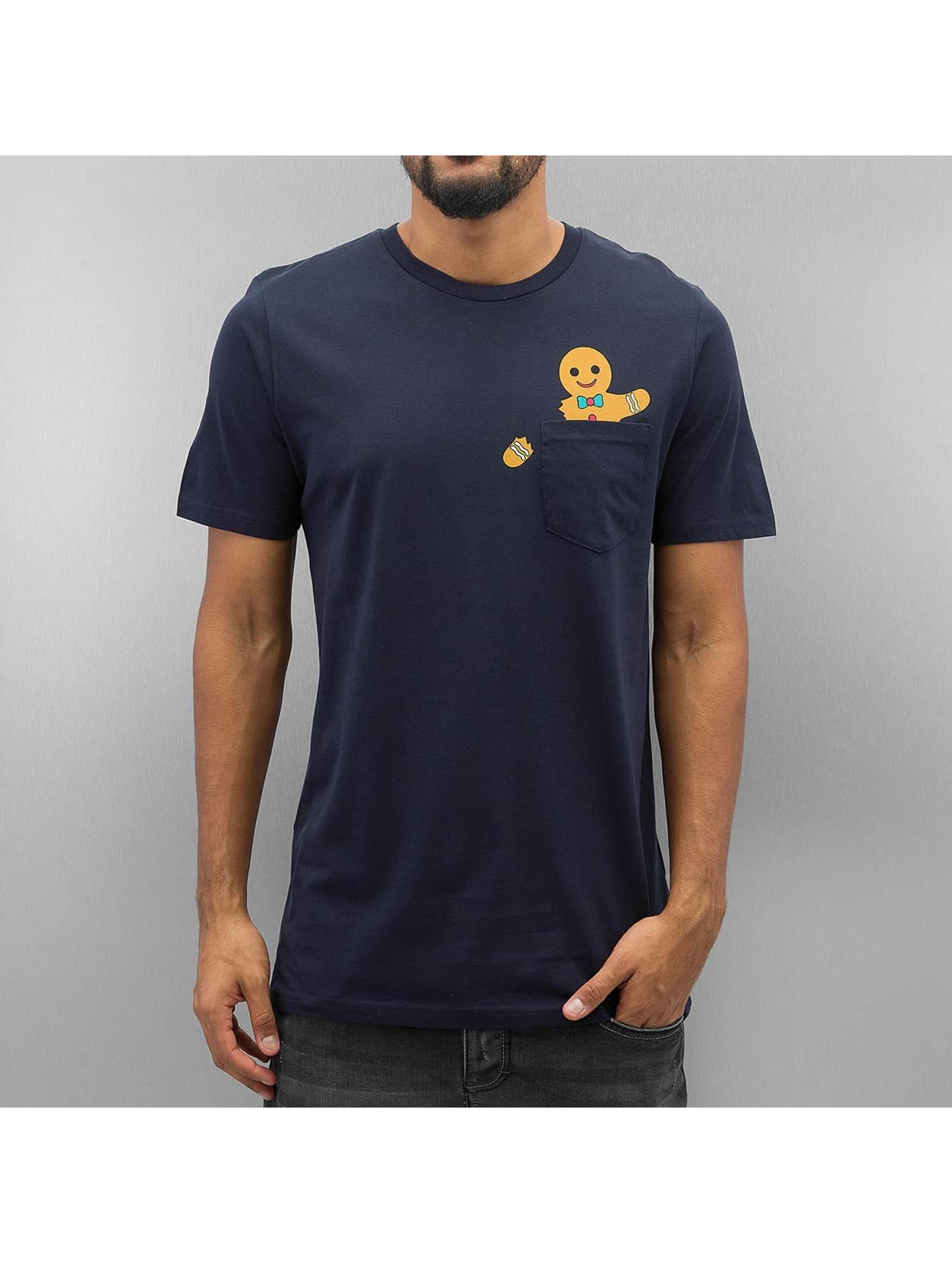 Jack & Jones T-skjorter jorChimney blå