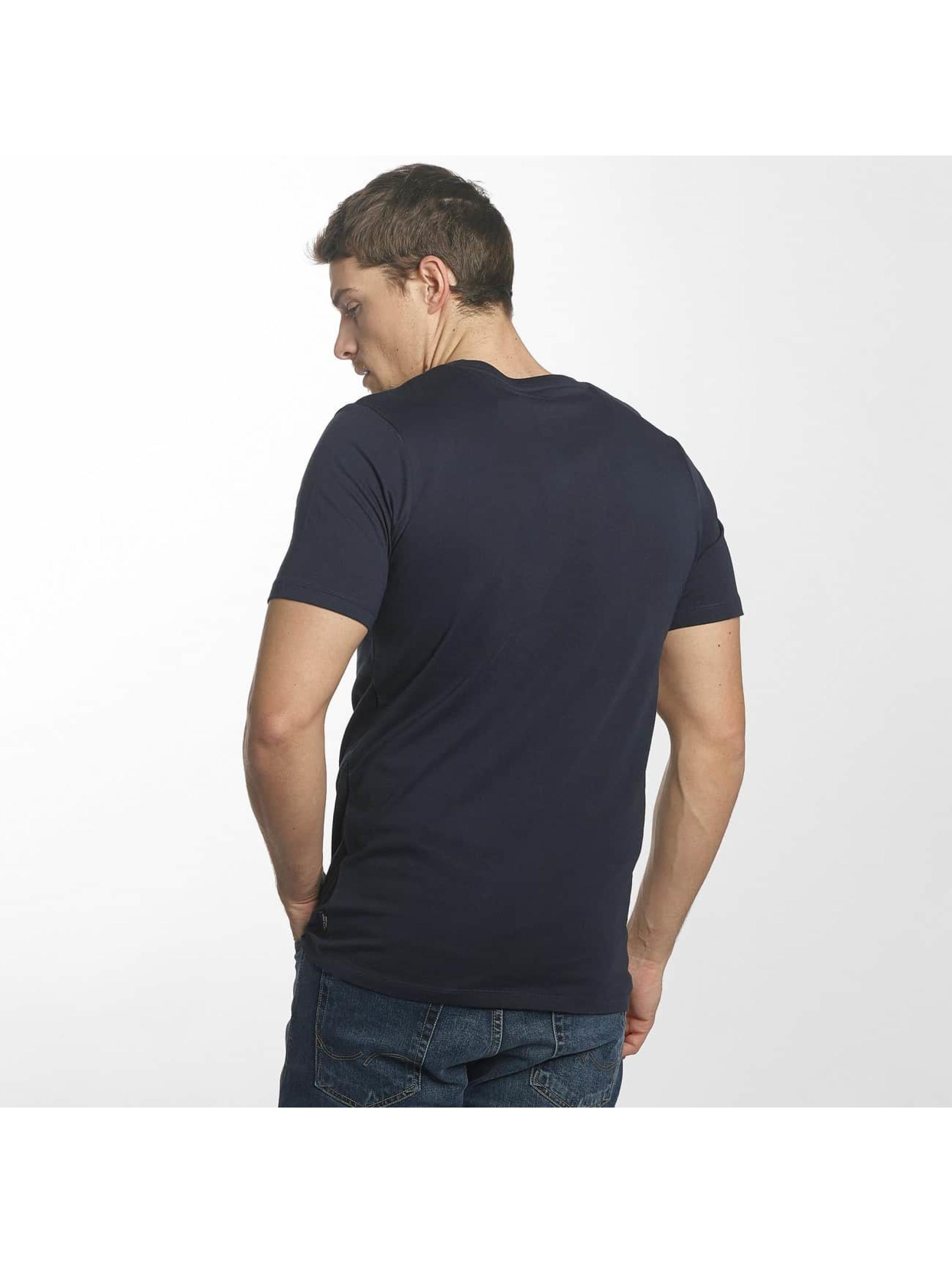Jack & Jones T-skjorter jorHearty blå