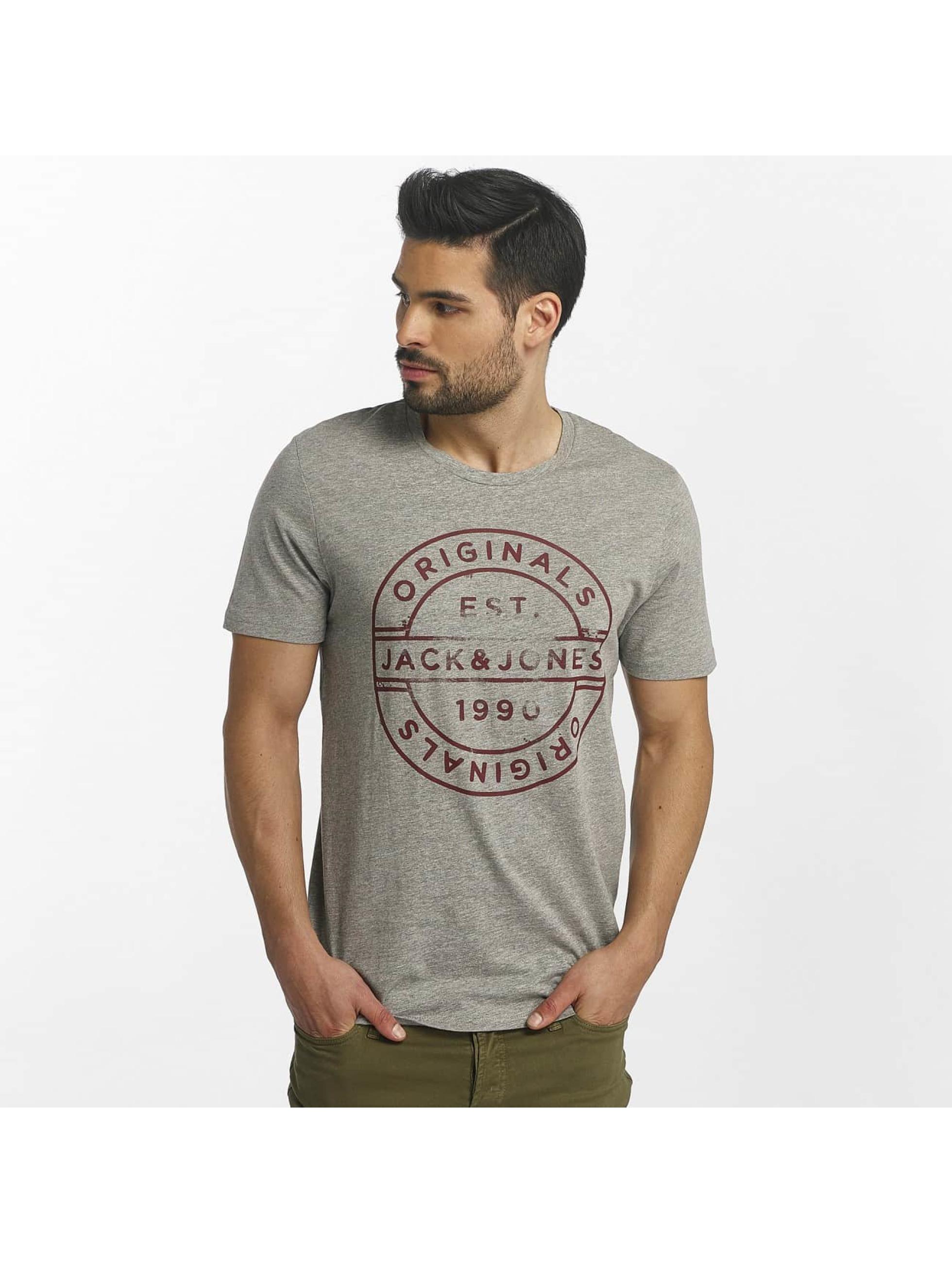 Jack & Jones T-skjorter jorSlack grå