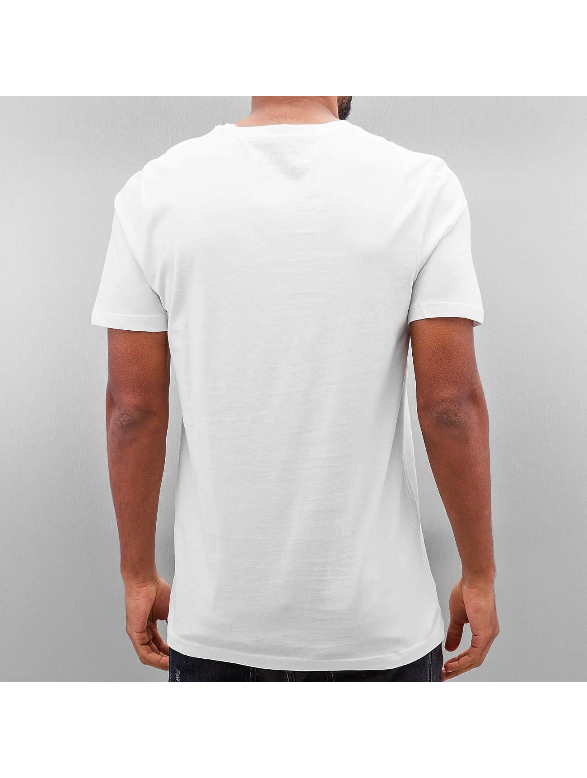 Jack & Jones T-skjorter Jorsedret hvit