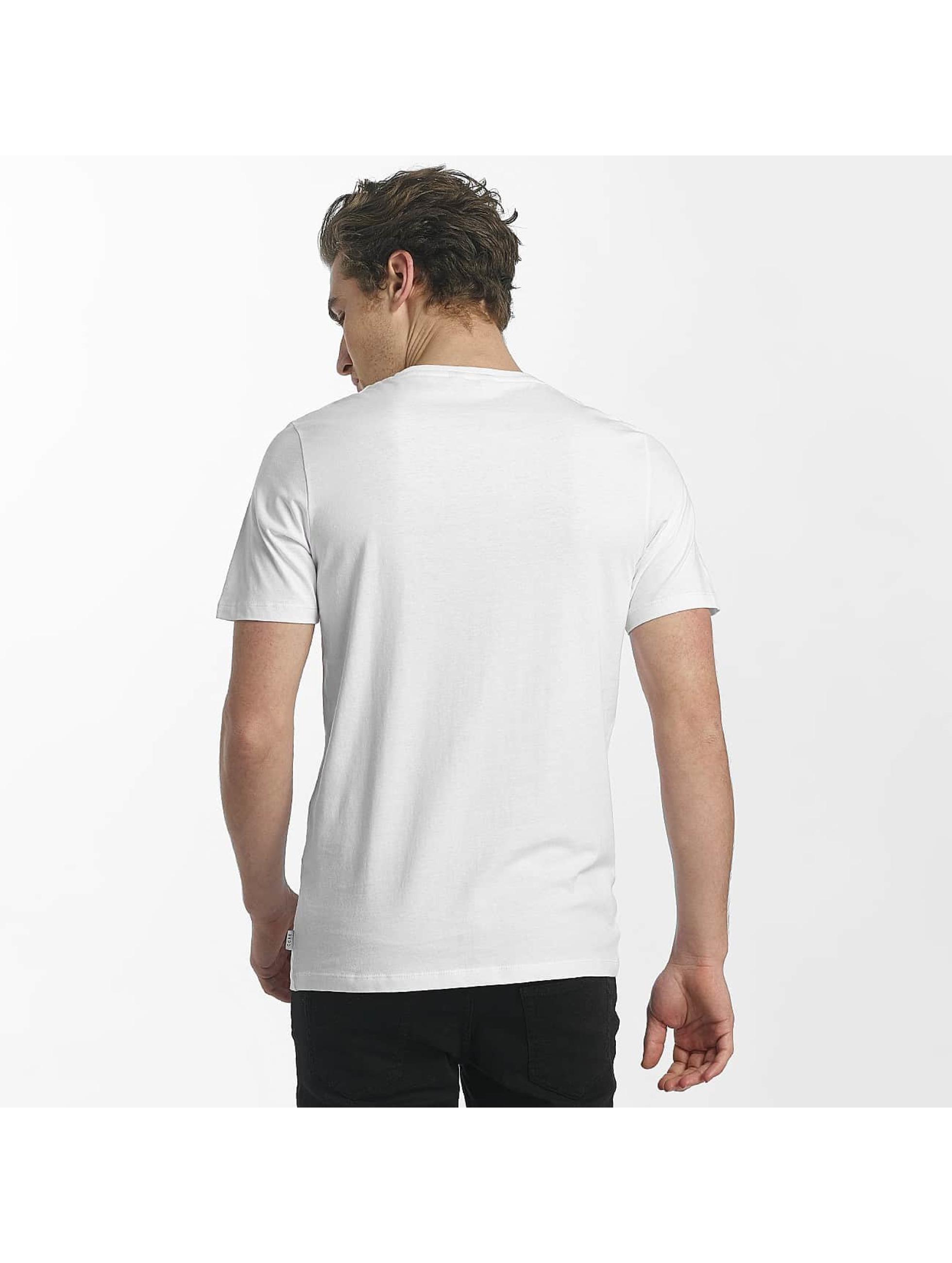 Jack & Jones T-skjorter jcoHunter hvit
