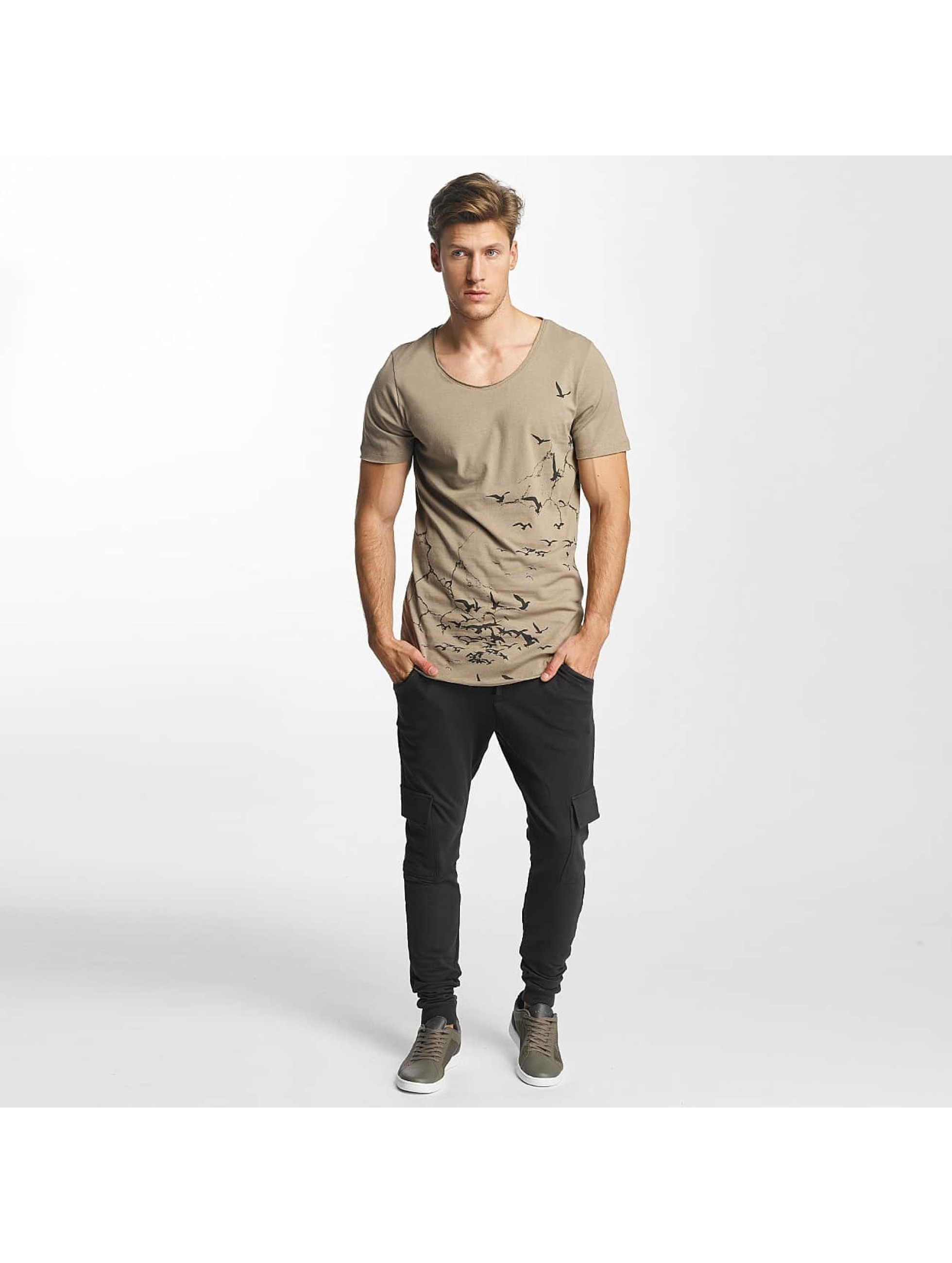 Jack & Jones T-skjorter jorThe Bird khaki