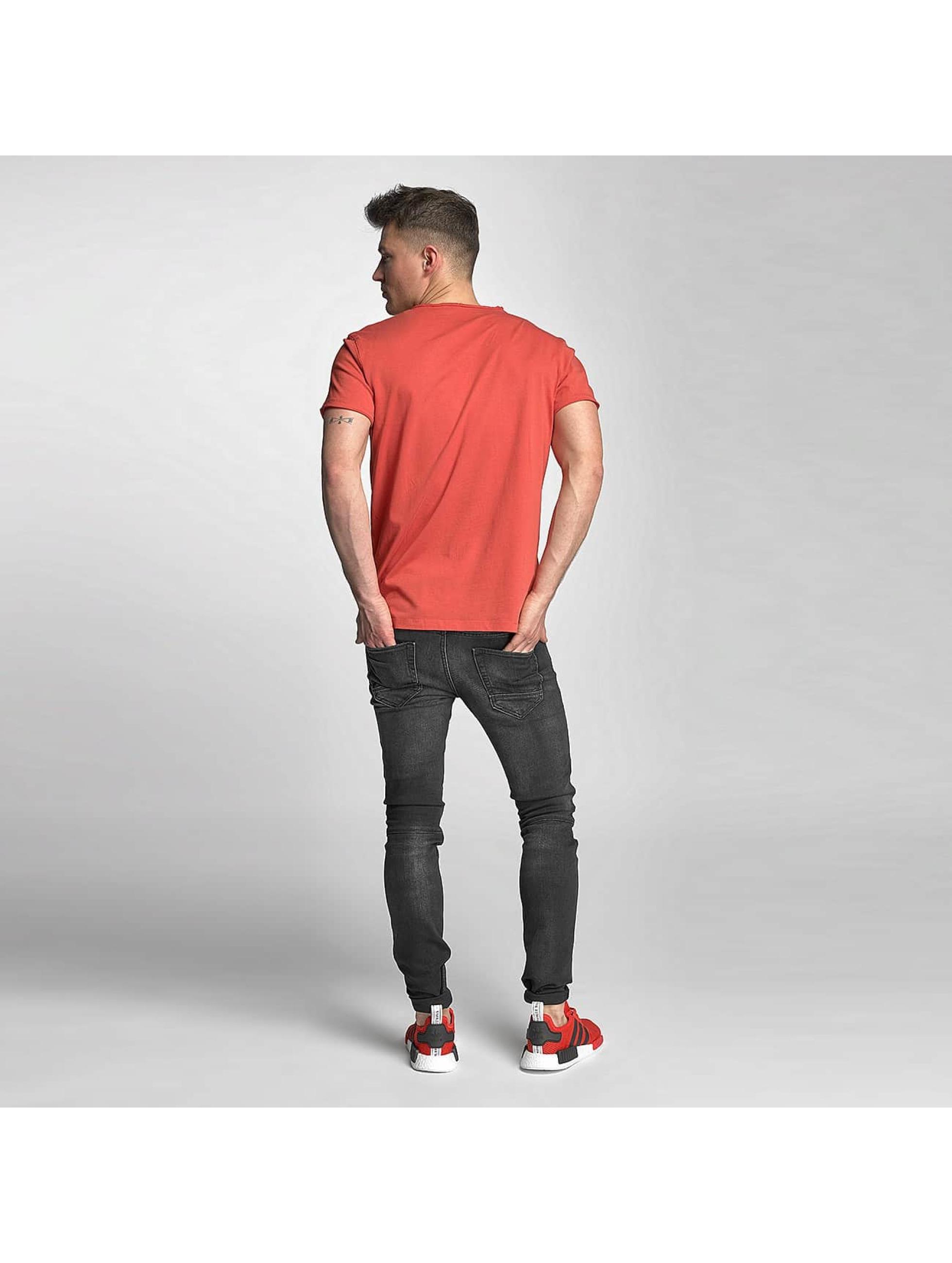 Jack & Jones T-skjorter Wolf red