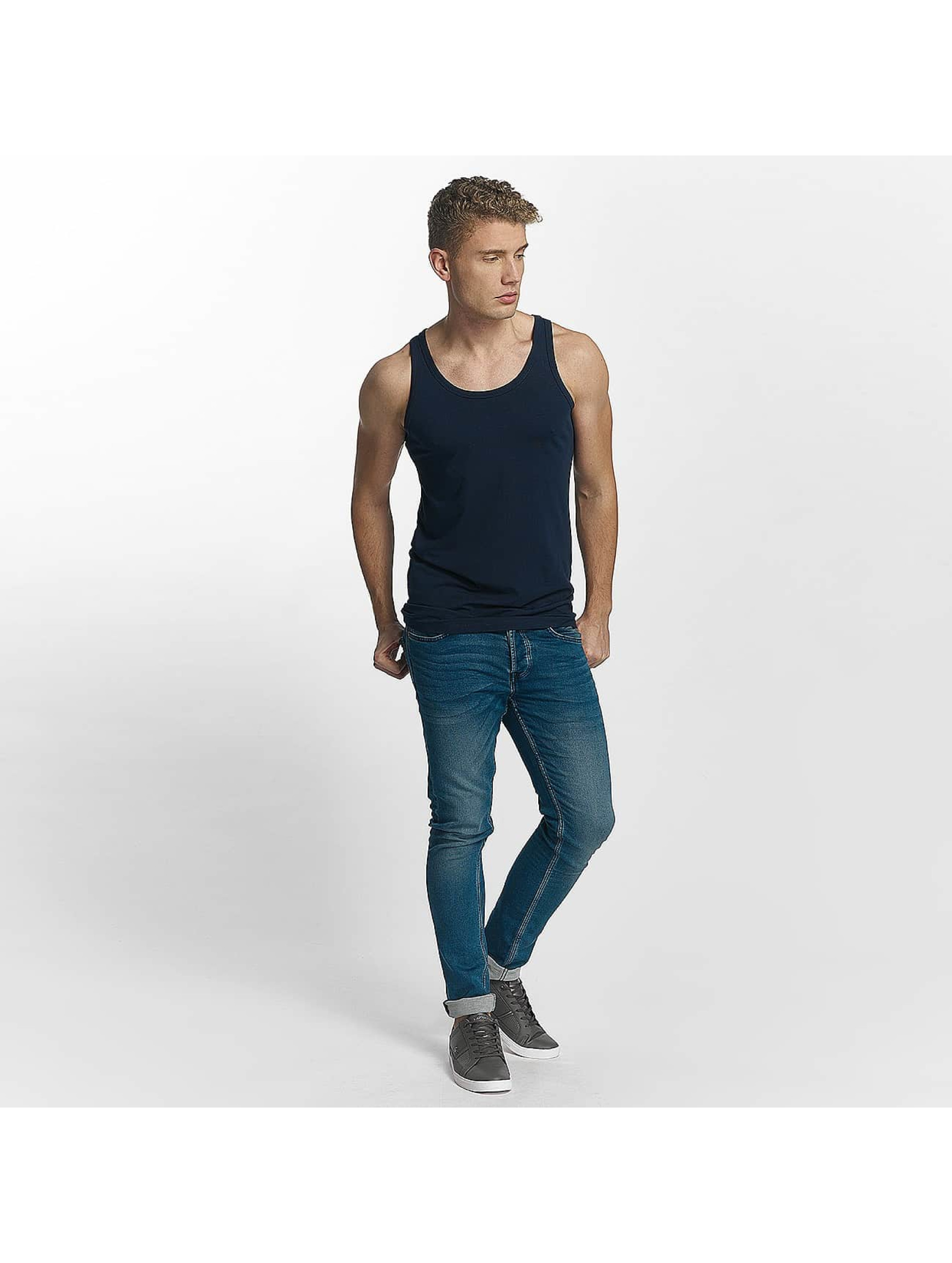 Jack & Jones Tank Tops Basic blue