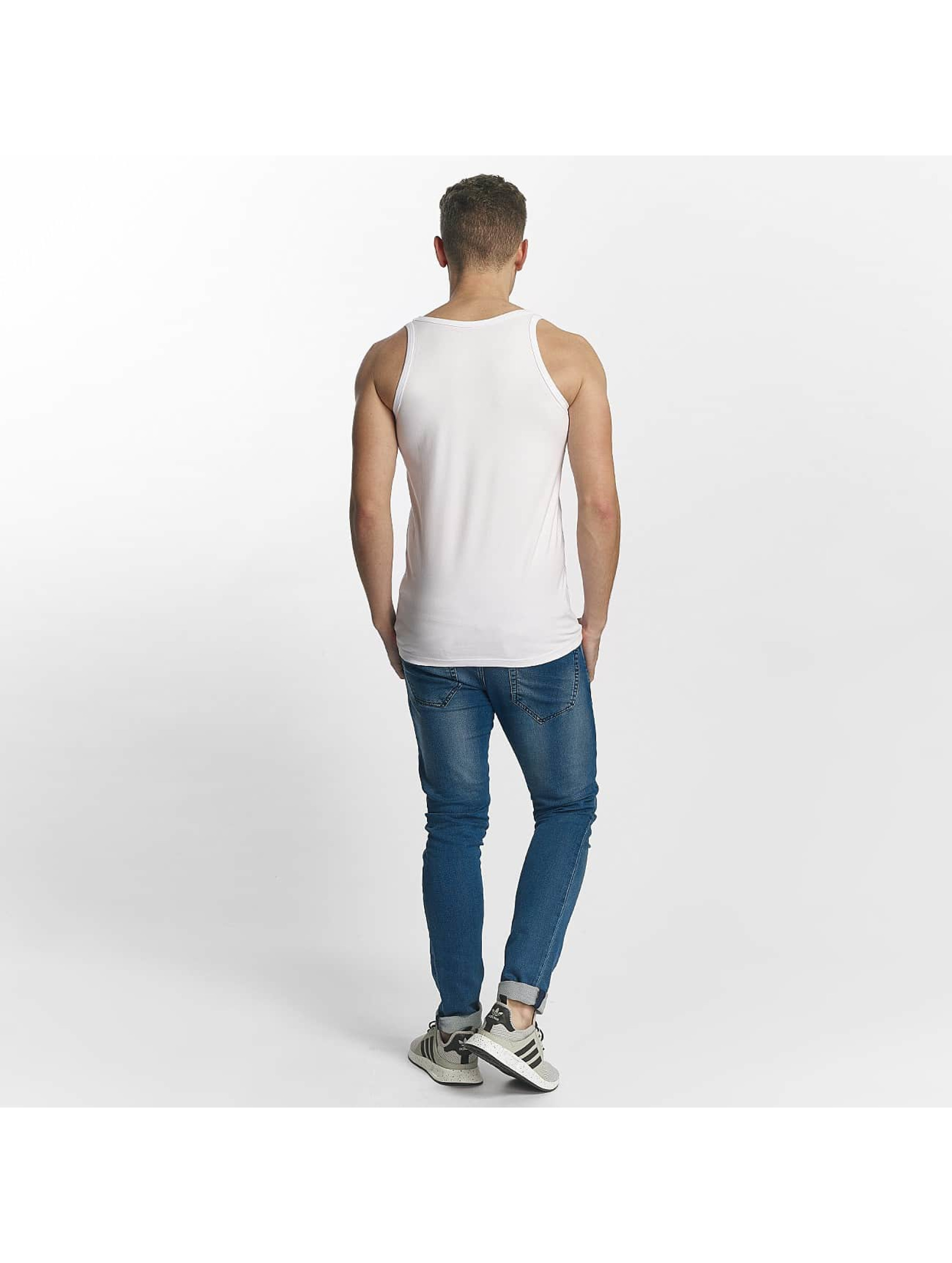 Jack & Jones Tank Tops Basic valkoinen