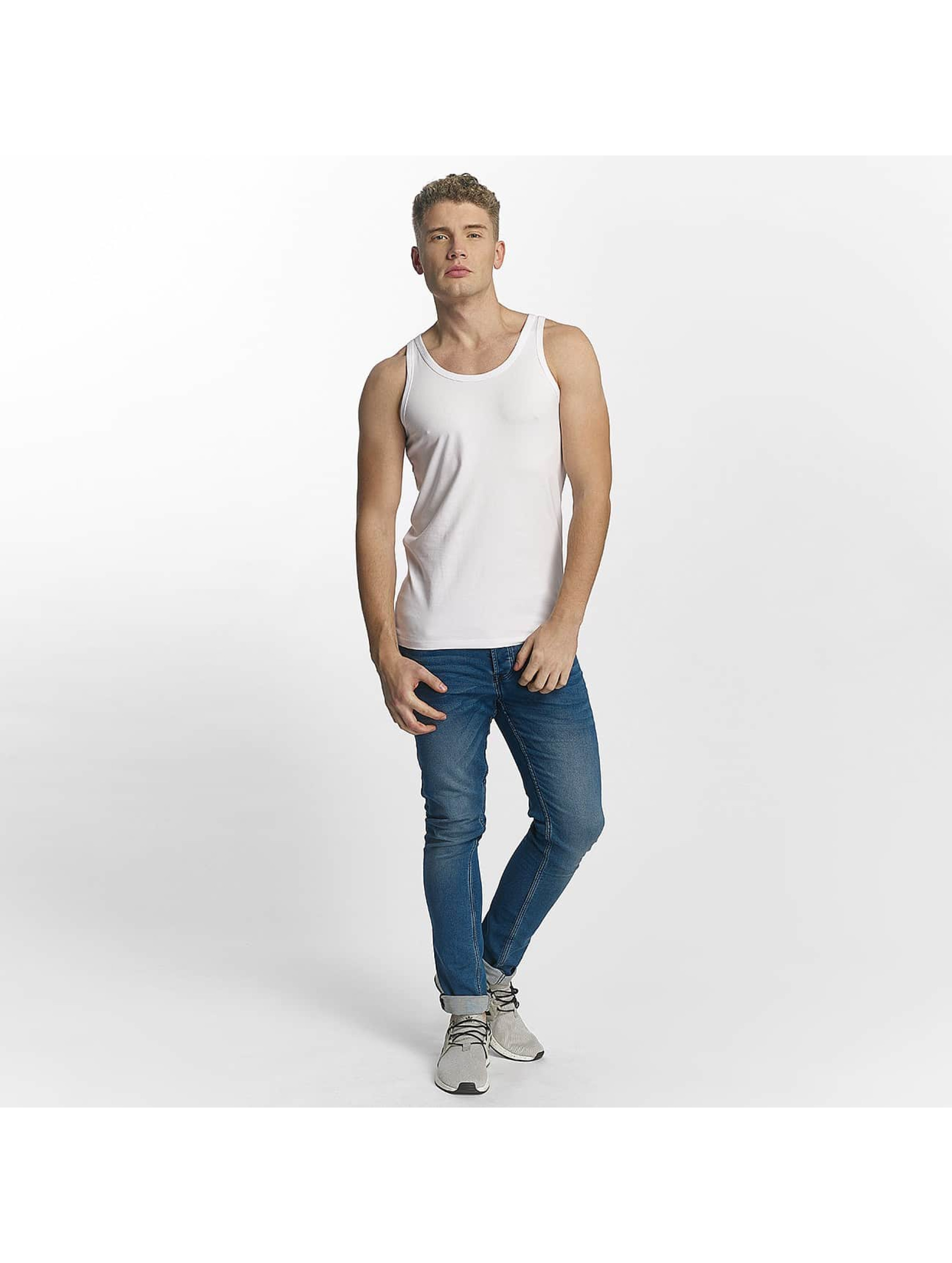 Jack & Jones Tank Tops Basic weiß