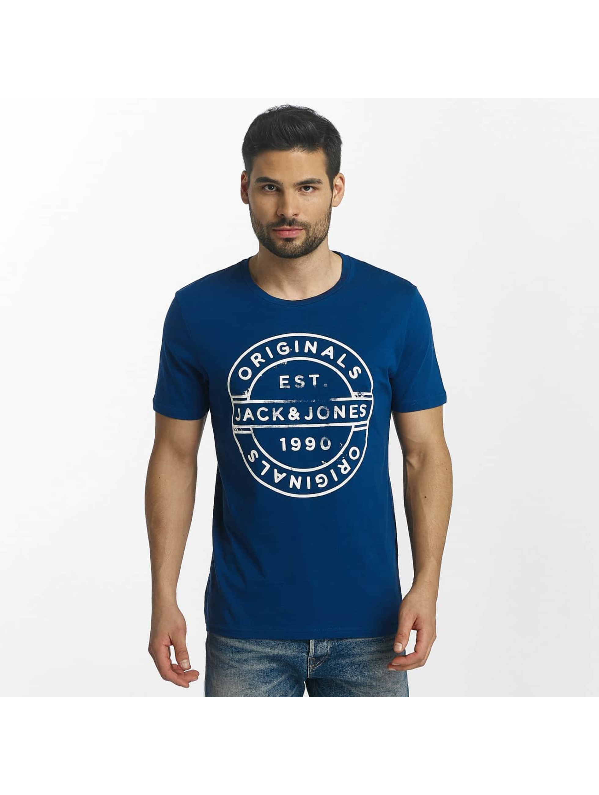 Jack & Jones Tričká jorSlack modrá