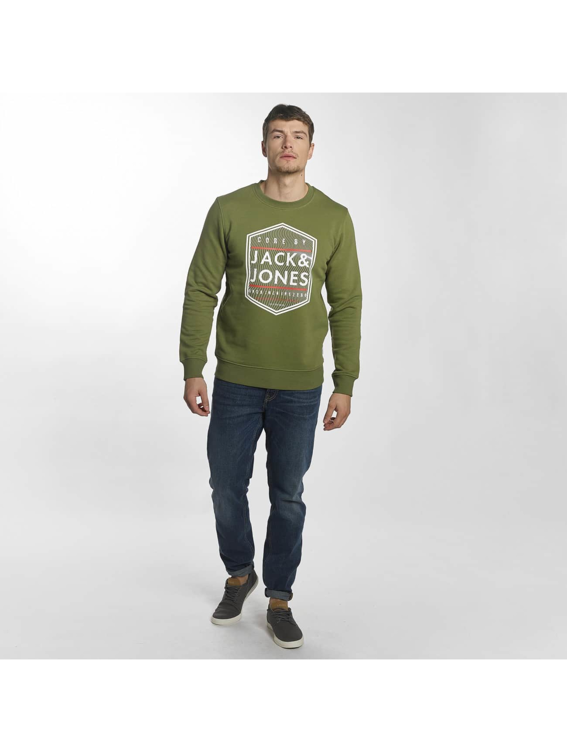 Jack & Jones trui jcoGeometric groen