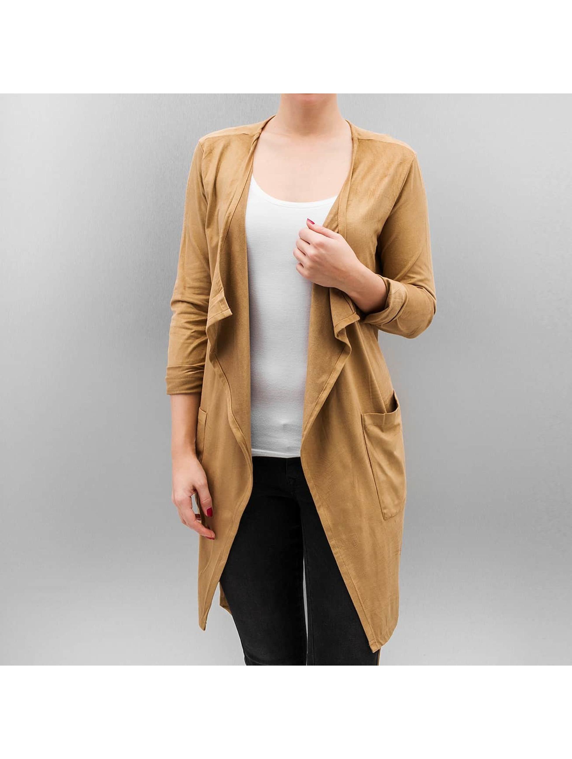 JACQUELINE de YONG Демисезонная куртка JdyMaple коричневый