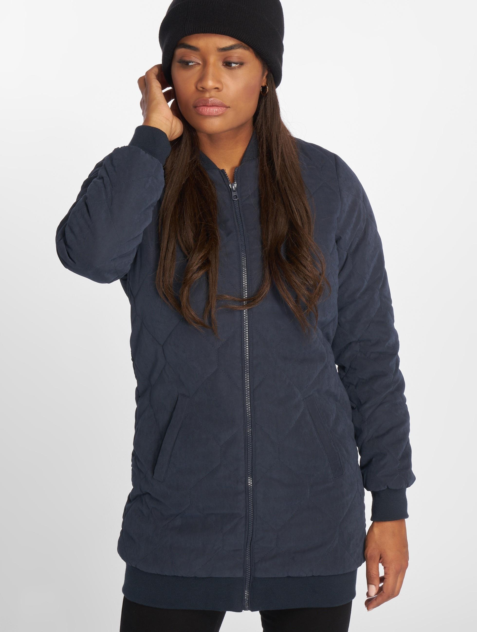 JACQUELINE de YONG Демисезонная куртка jdyAlisha Quitlted синий