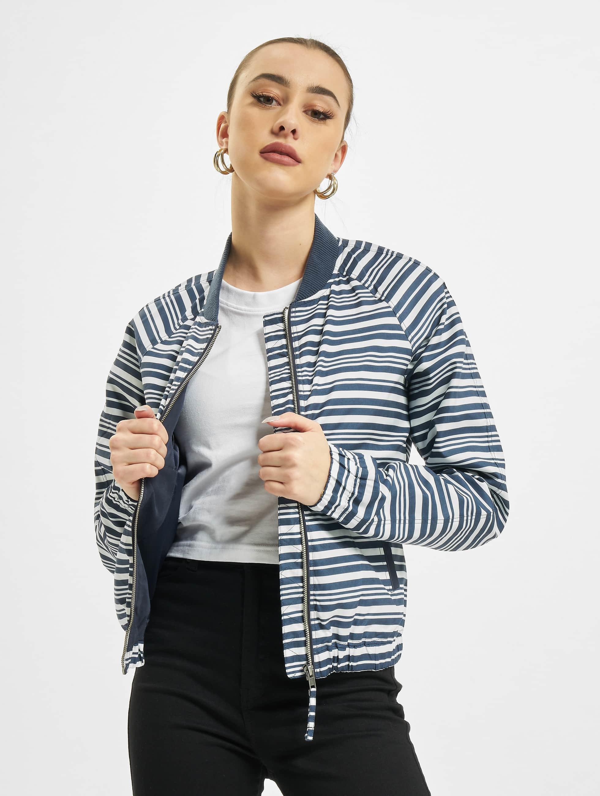 JACQUELINE de YONG Куртка-бомбардир jdyTreasure синий