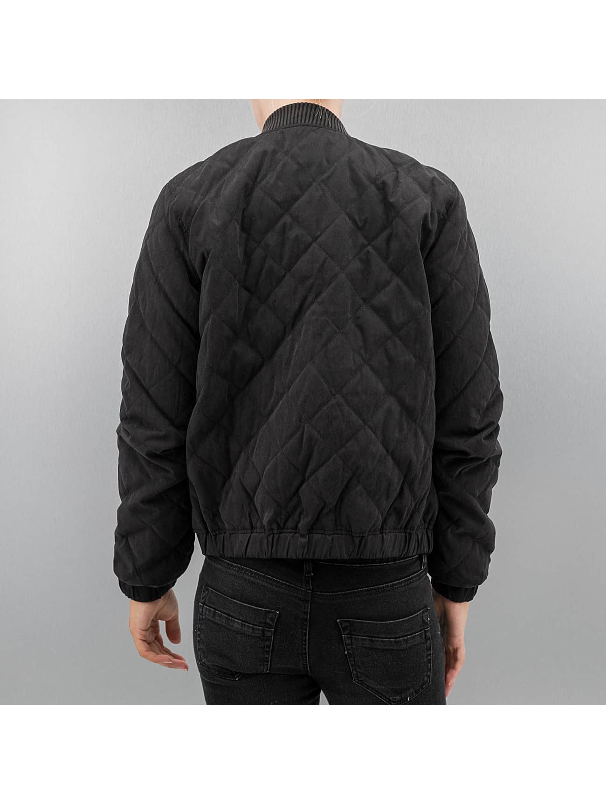 JACQUELINE de YONG Куртка-бомбардир jdyTreasure черный
