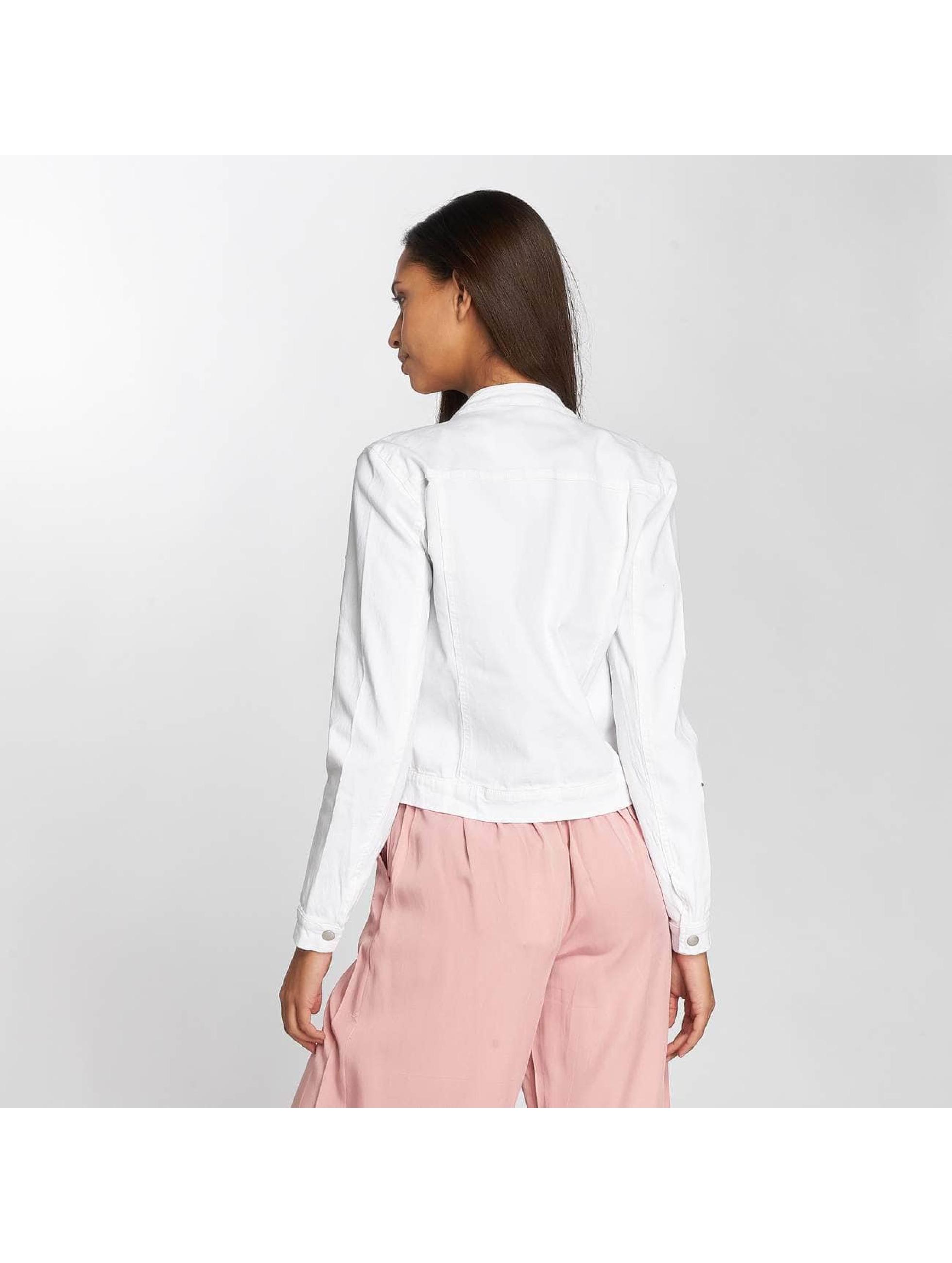 JACQUELINE de YONG Denim Jacket jdyFive white