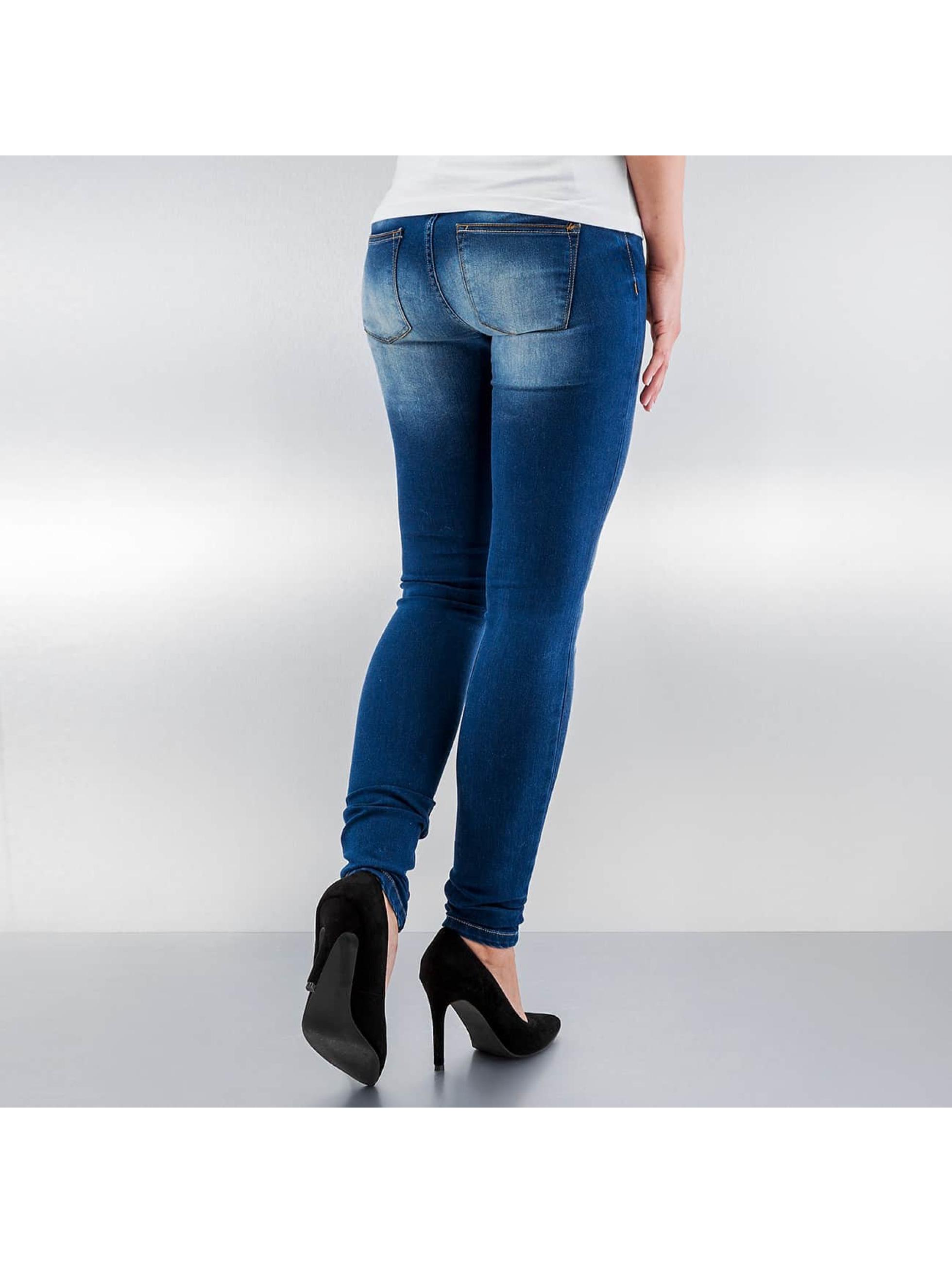 JACQUELINE de YONG Jean skinny JdyGarcia bleu