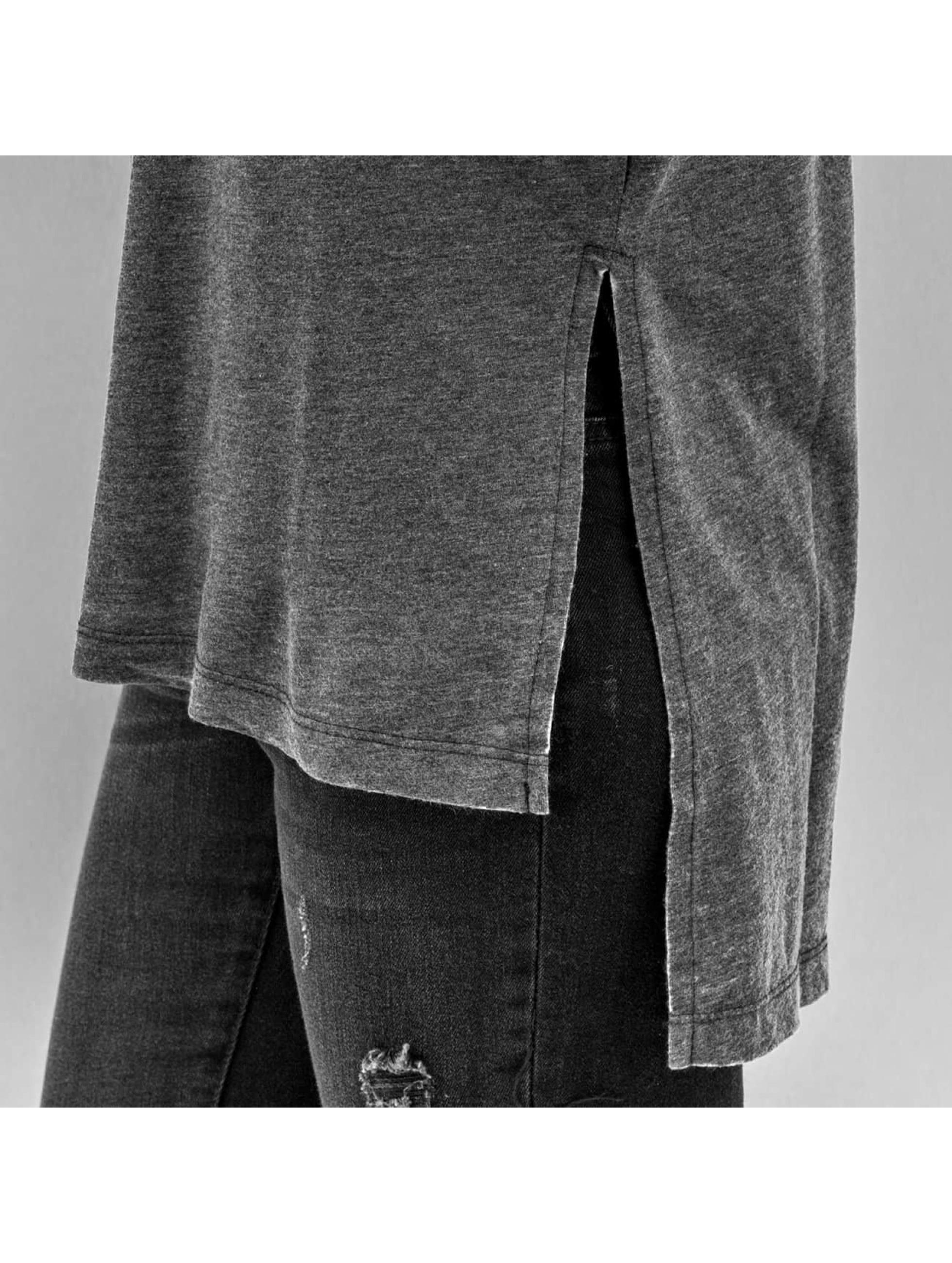 JACQUELINE de YONG Maglietta a manica lunga JdyBurn L/S Tunic grigio