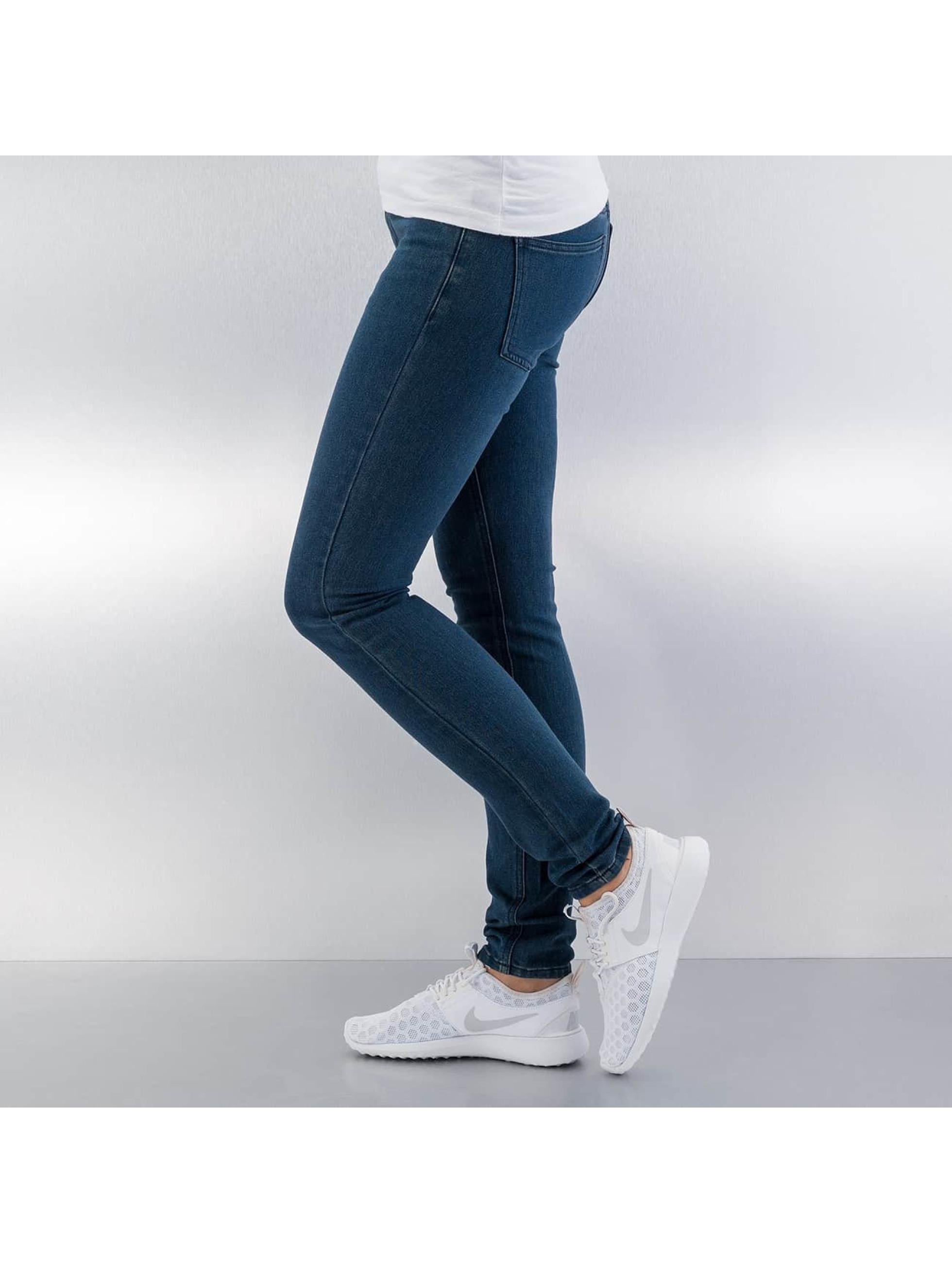 JACQUELINE de YONG Skinny Jeans JdyHolly Low blau