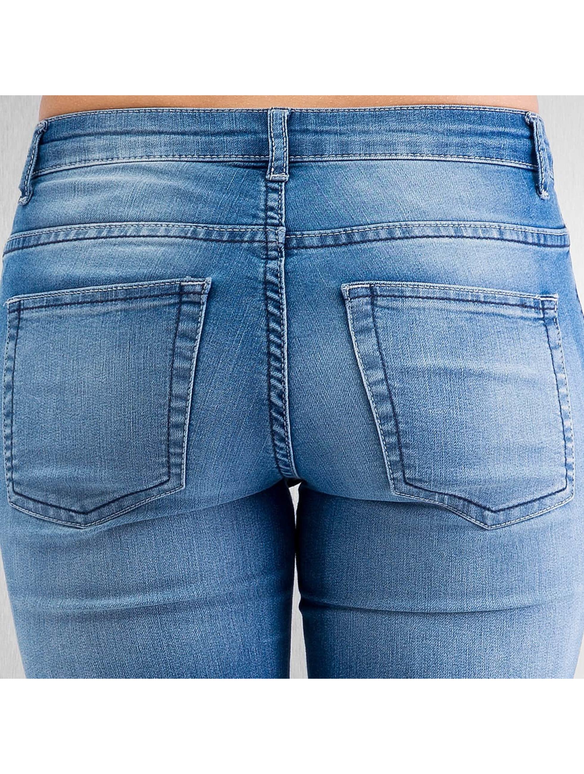 JACQUELINE de YONG Skinny Jeans JDYLow Magic blau