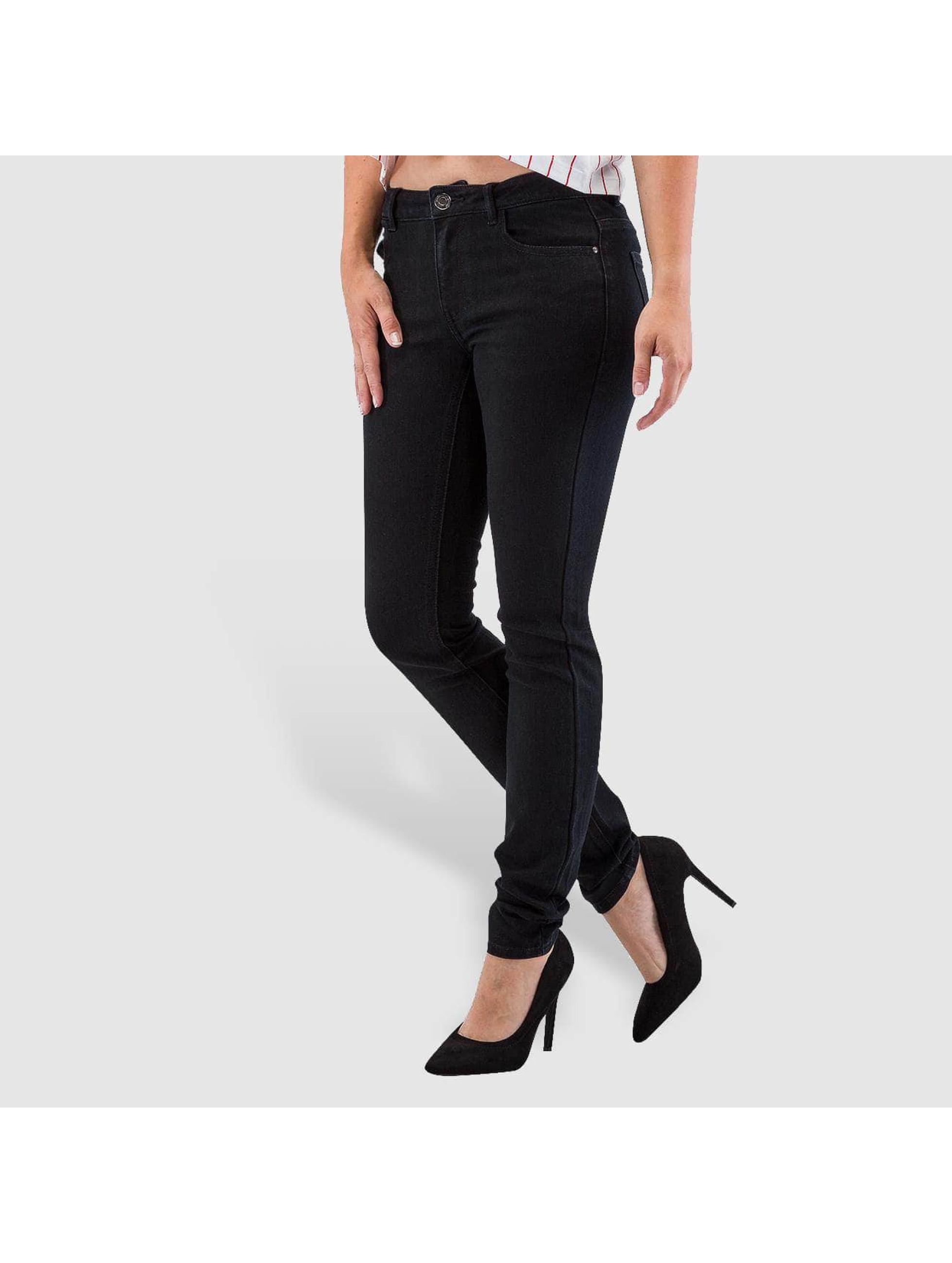 JACQUELINE de YONG Skinny Jeans Holly czarny