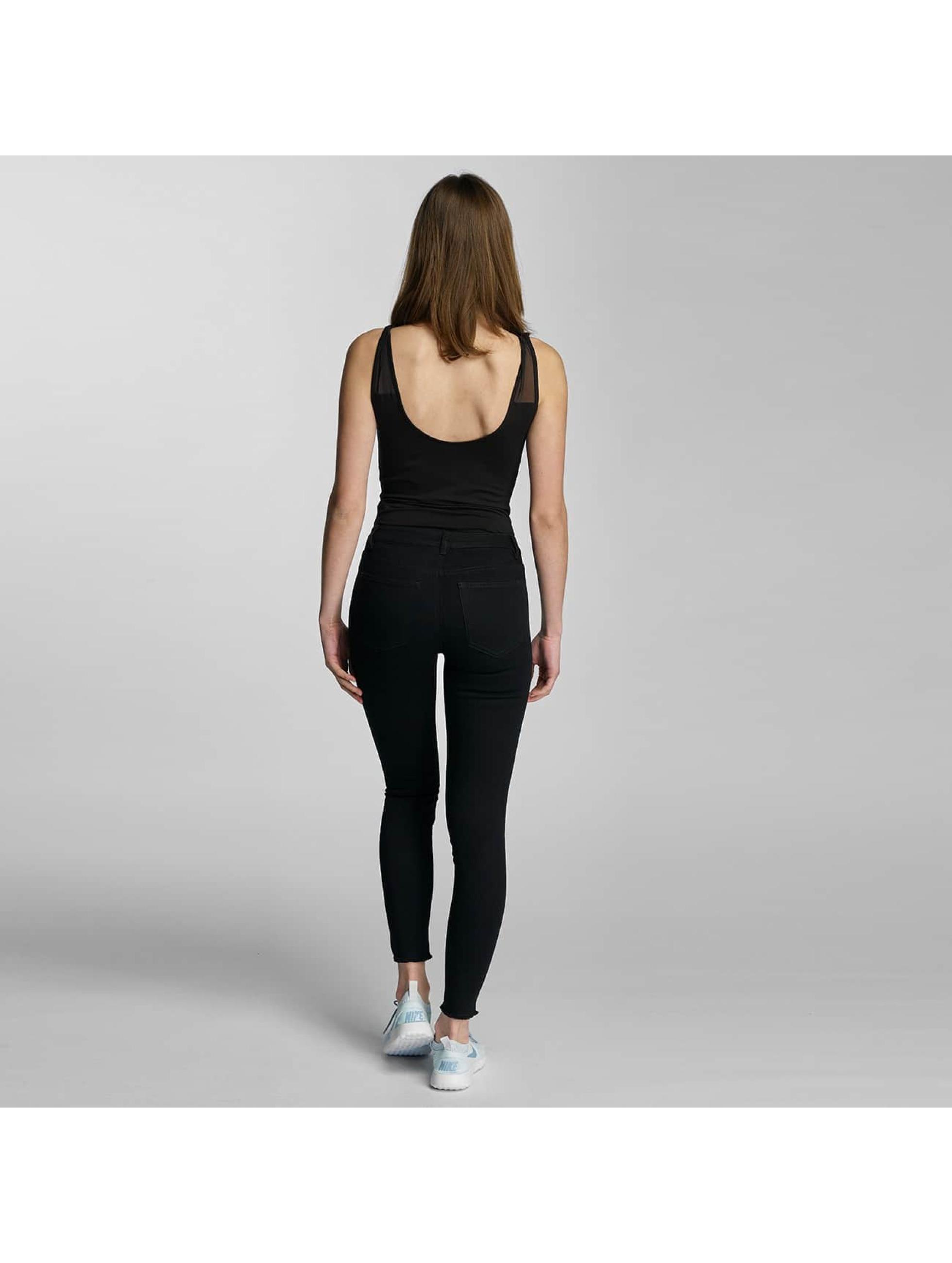 JACQUELINE de YONG Skinny Jeans jdySkinny Low Holly Ancle schwarz