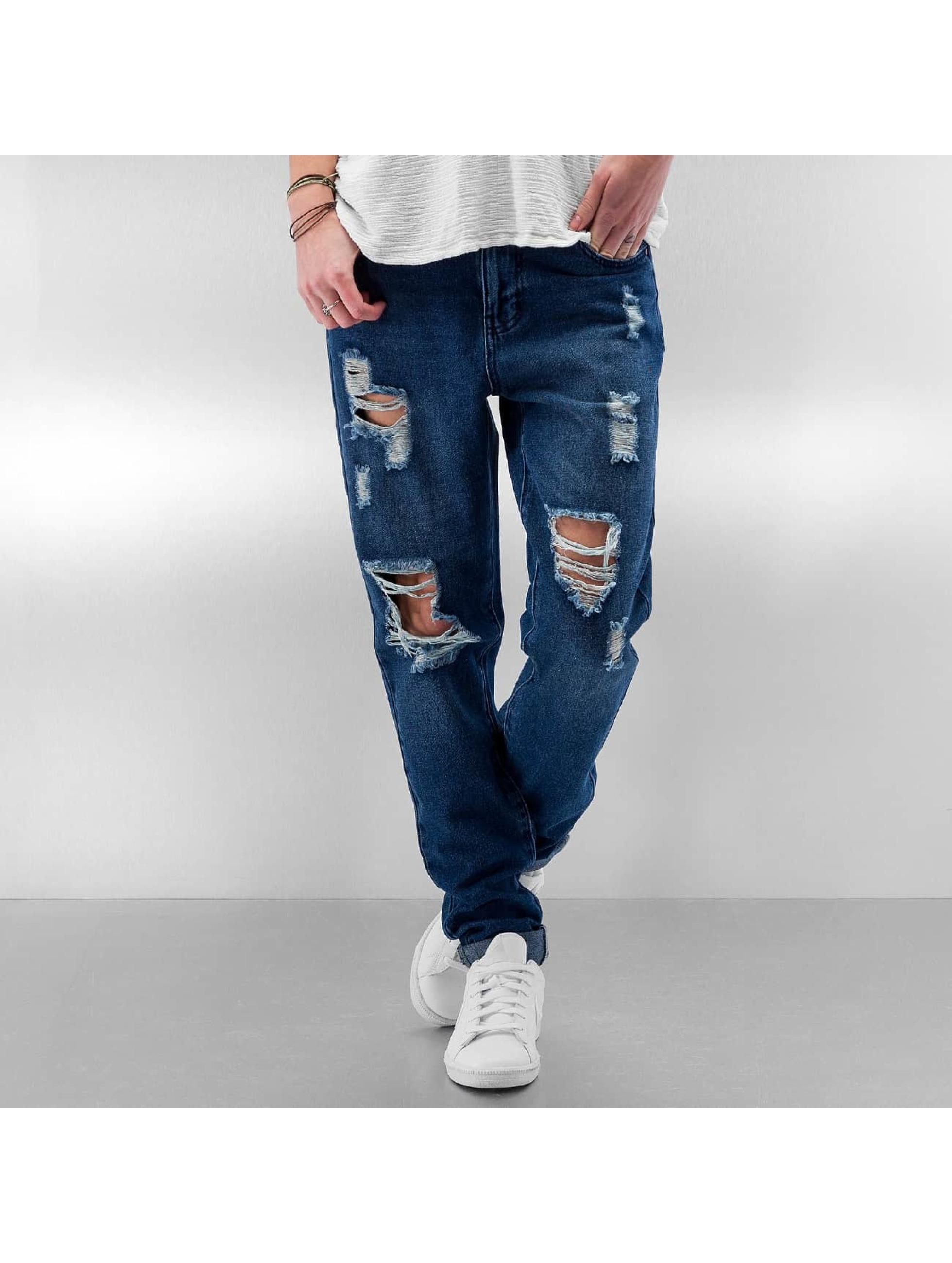 JACQUELINE de YONG Straight fit jeans JdyVanessa Girlfriend blauw