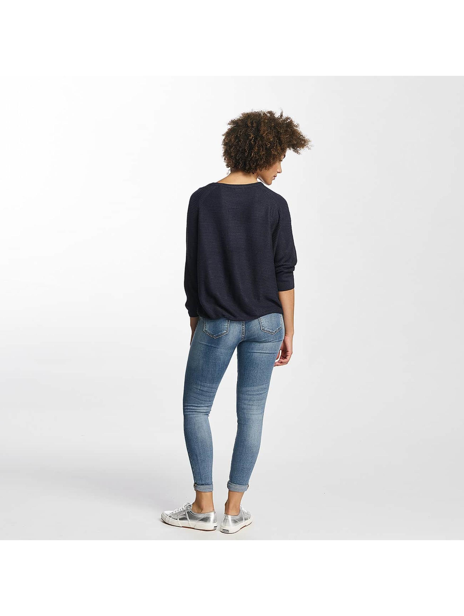 JACQUELINE de YONG Sweat & Pull jdyMati Knit bleu