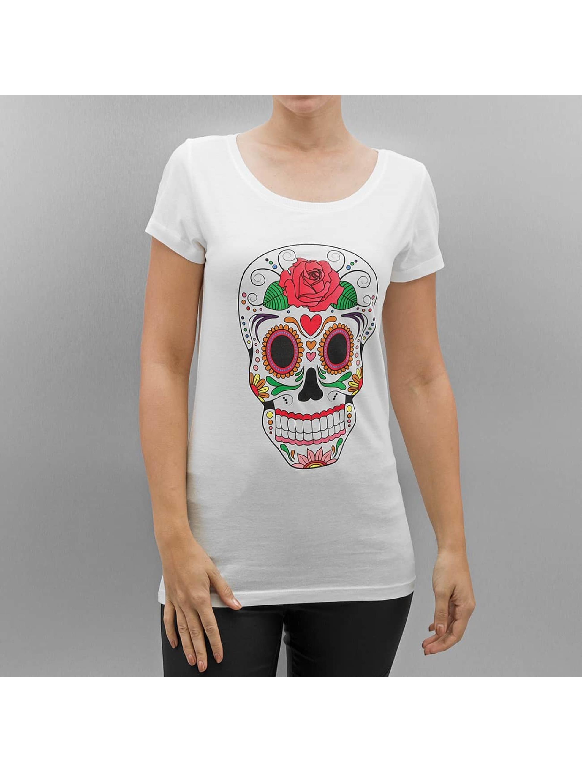 JACQUELINE de YONG T-Shirt JdyBobbie blanc